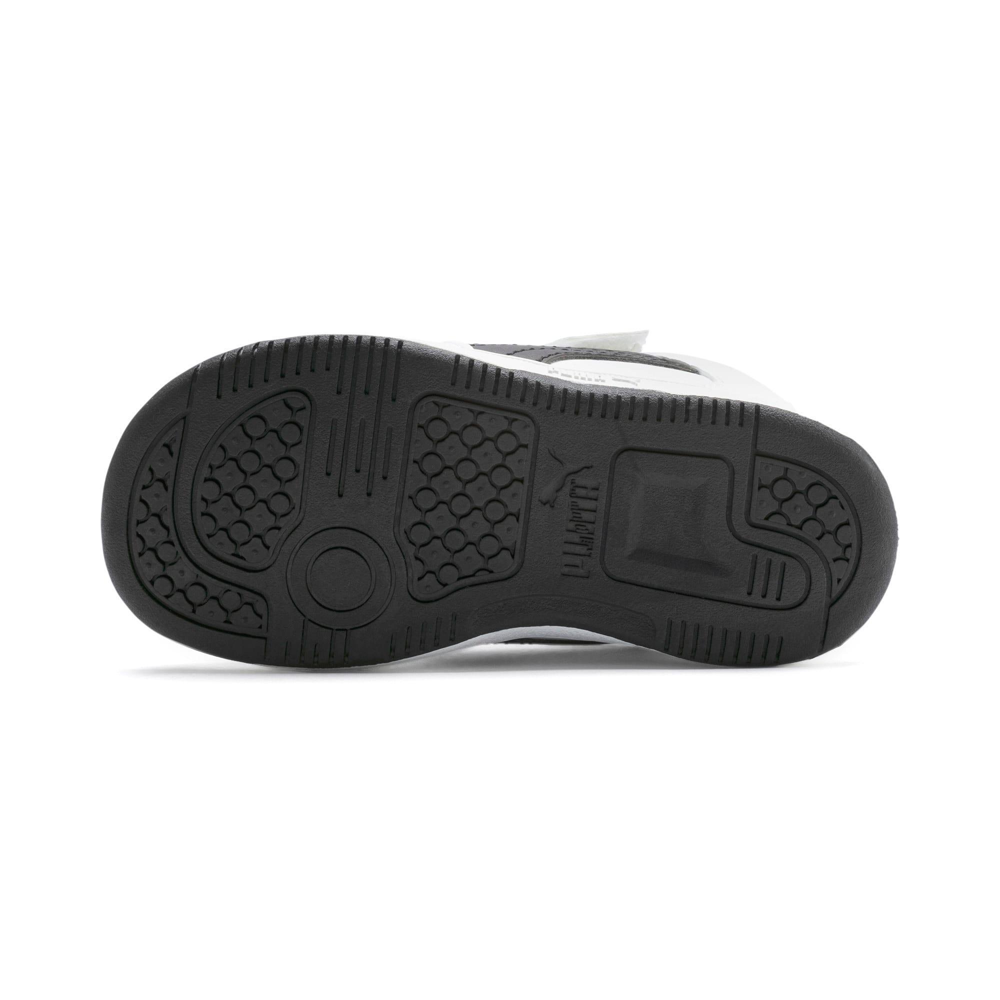 Miniatura 4 de Zapatos deportivos PUMA Rebound LayUp Lo para INF, Puma White-Puma Black-Red, mediano