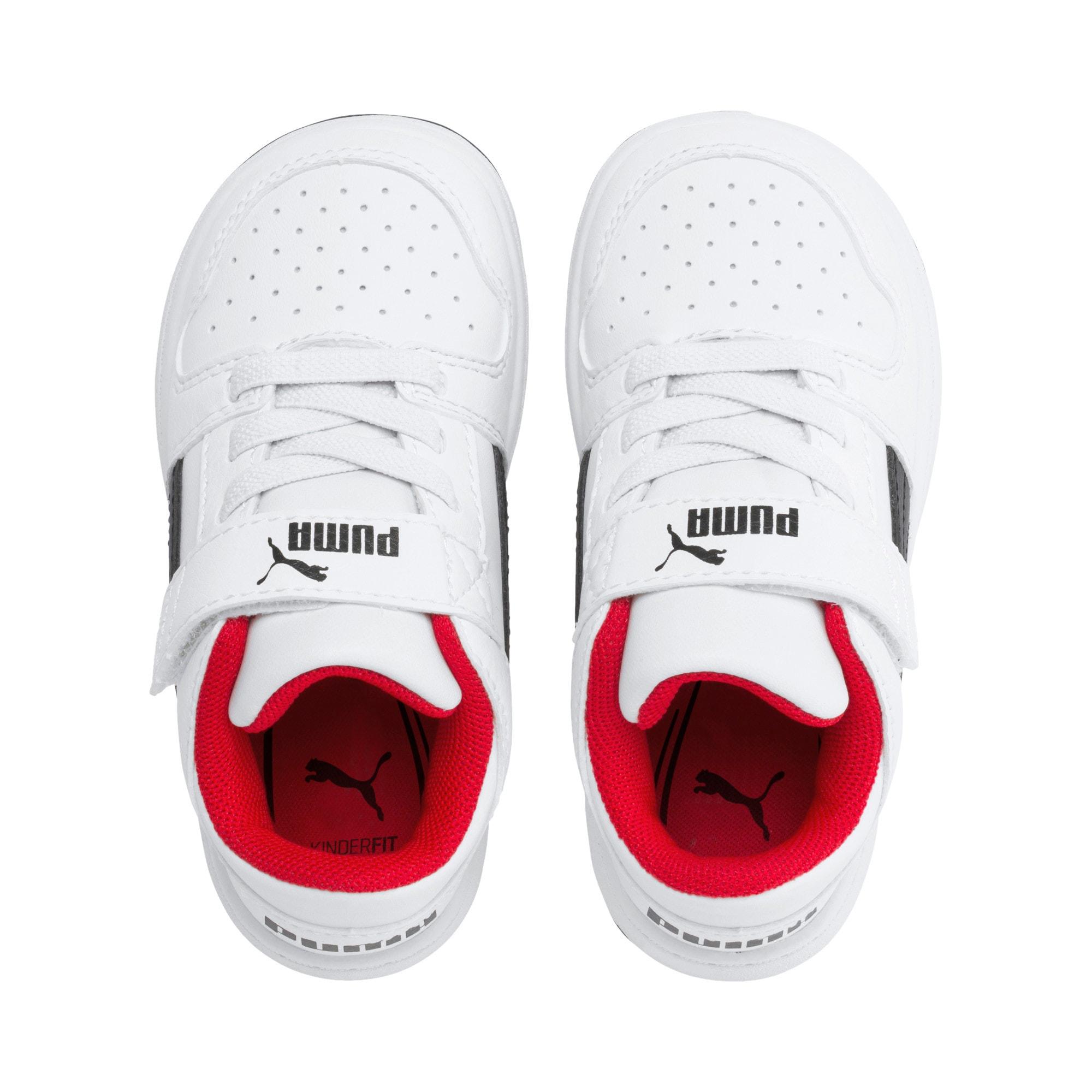 Miniatura 6 de Zapatos deportivos PUMA Rebound LayUp Lo para INF, Puma White-Puma Black-Red, mediano