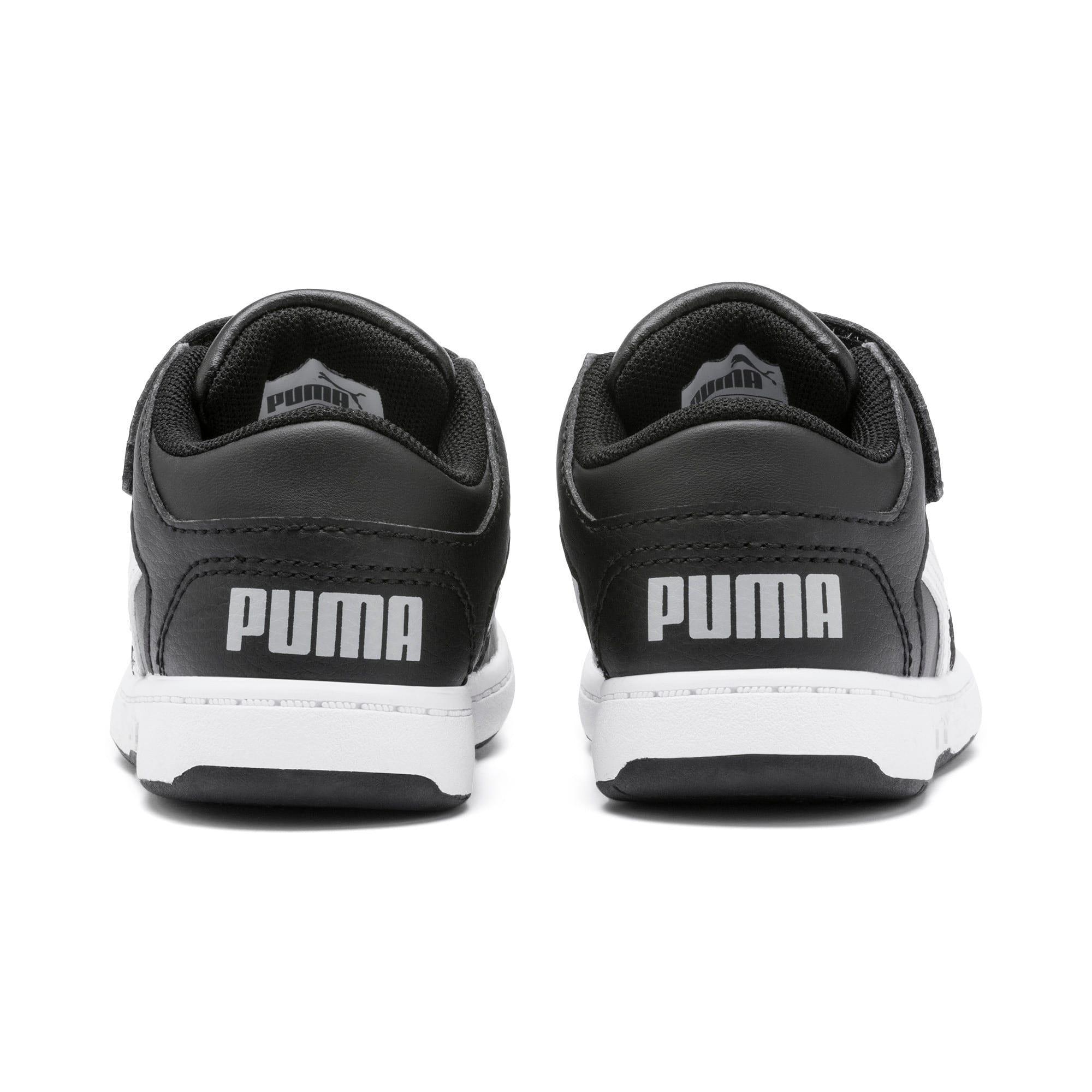 Miniatura 3 de Zapatos deportivos PUMA Rebound LayUp Lo para INF, Puma Black-Blanco-High Rise, mediano
