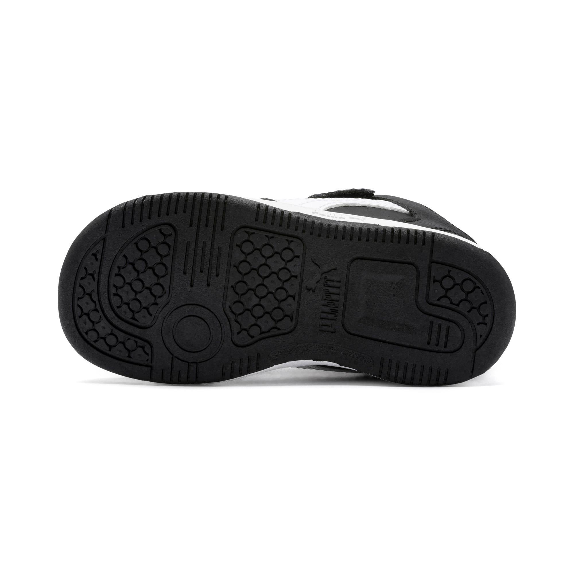 Miniatura 4 de Zapatos deportivos PUMA Rebound LayUp Lo para INF, Puma Black-Blanco-High Rise, mediano