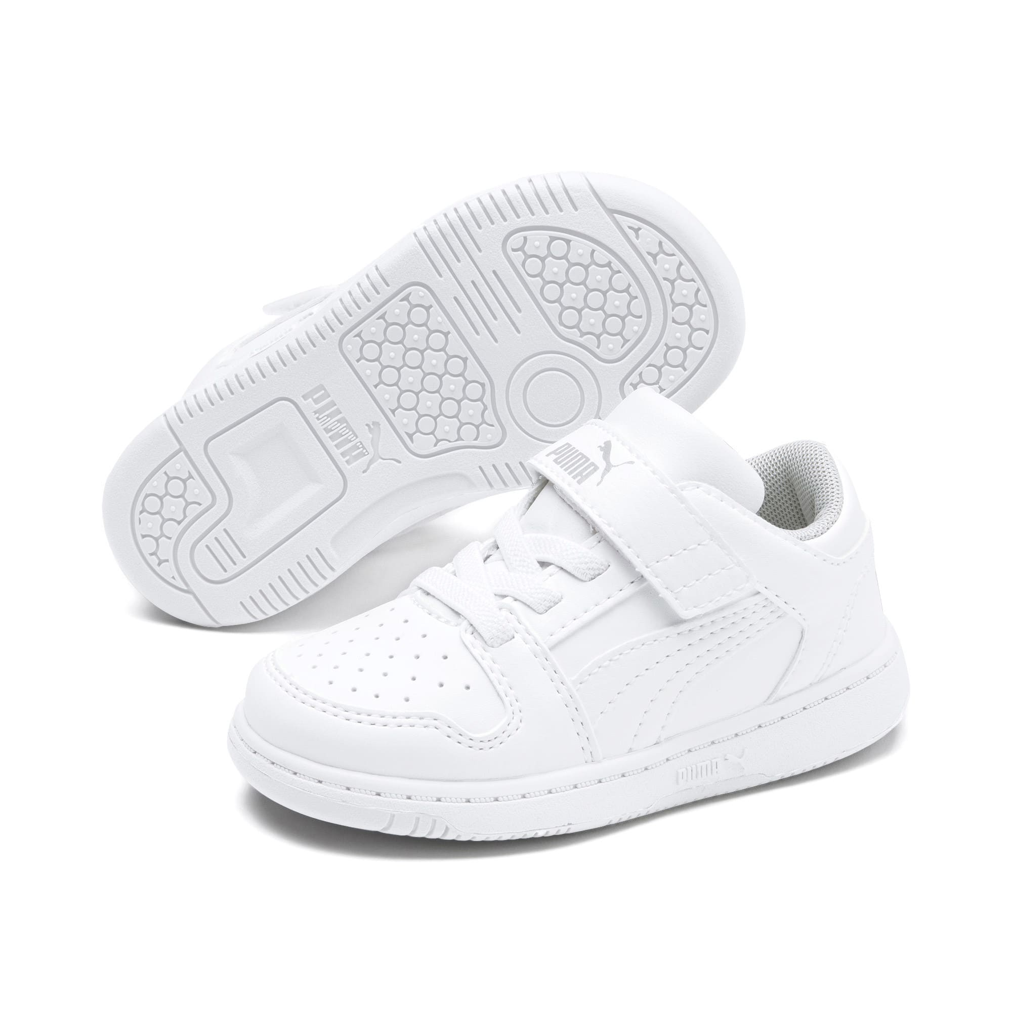 Miniatura 2 de Zapatos deportivos PUMA Rebound LayUp Lo para INF, Puma White-High Rise, mediano