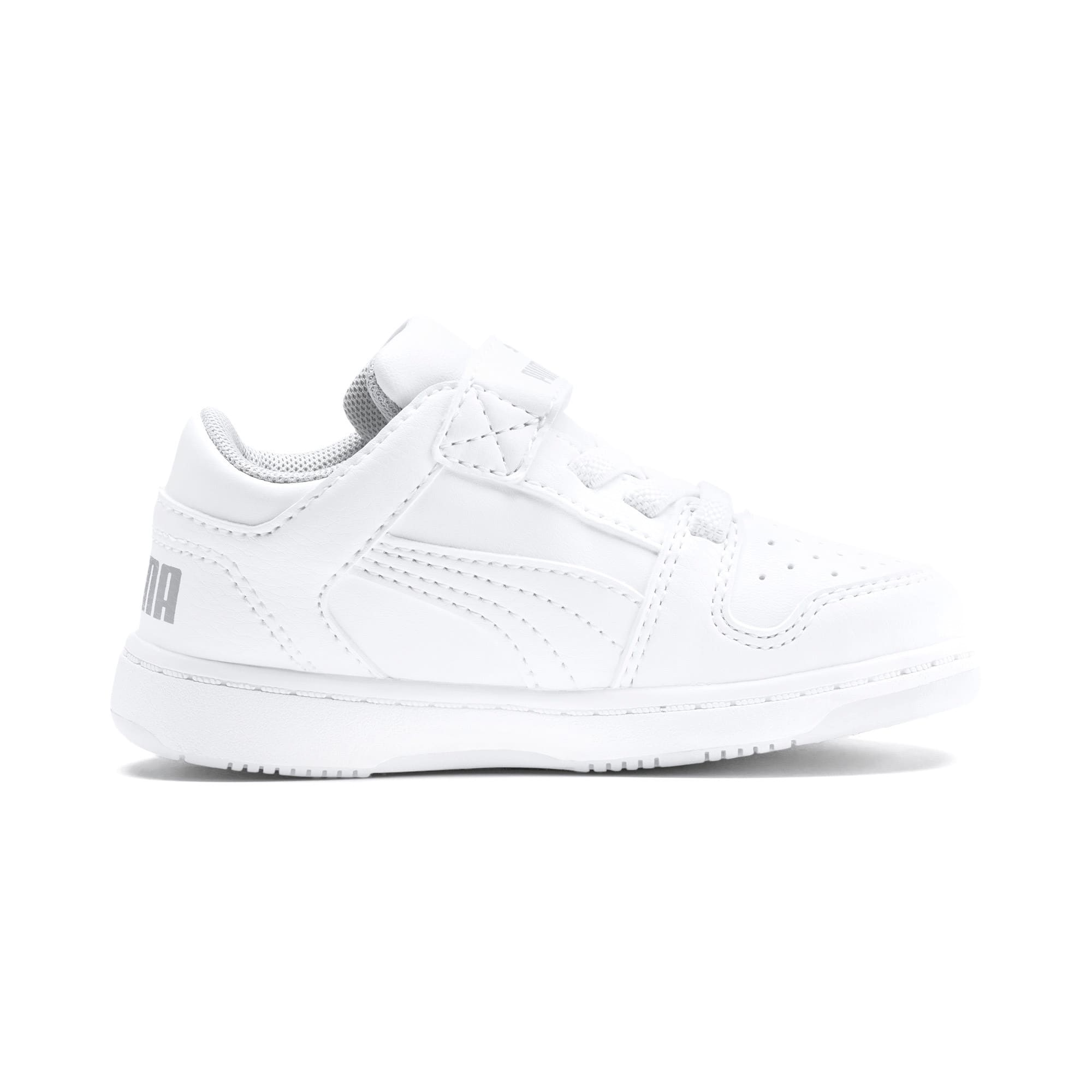 Miniatura 5 de Zapatos deportivos PUMA Rebound LayUp Lo para INF, Puma White-High Rise, mediano