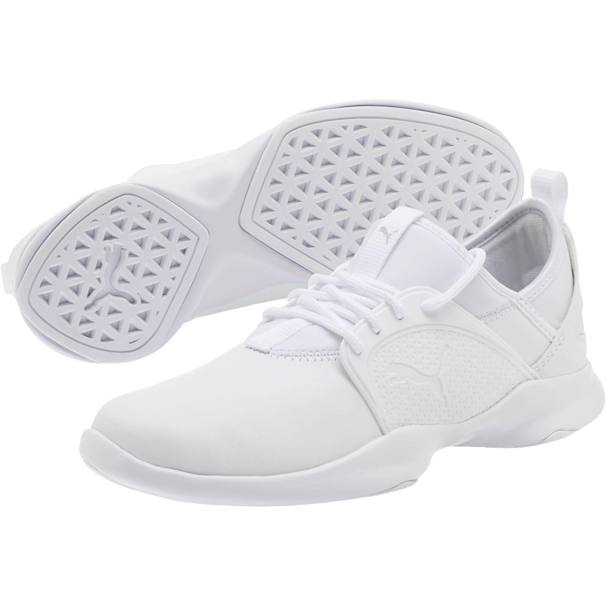 Thumbnail 2 of PUMA Dare Lace Women's Sneakers, P. White-P. White-P. White, medium