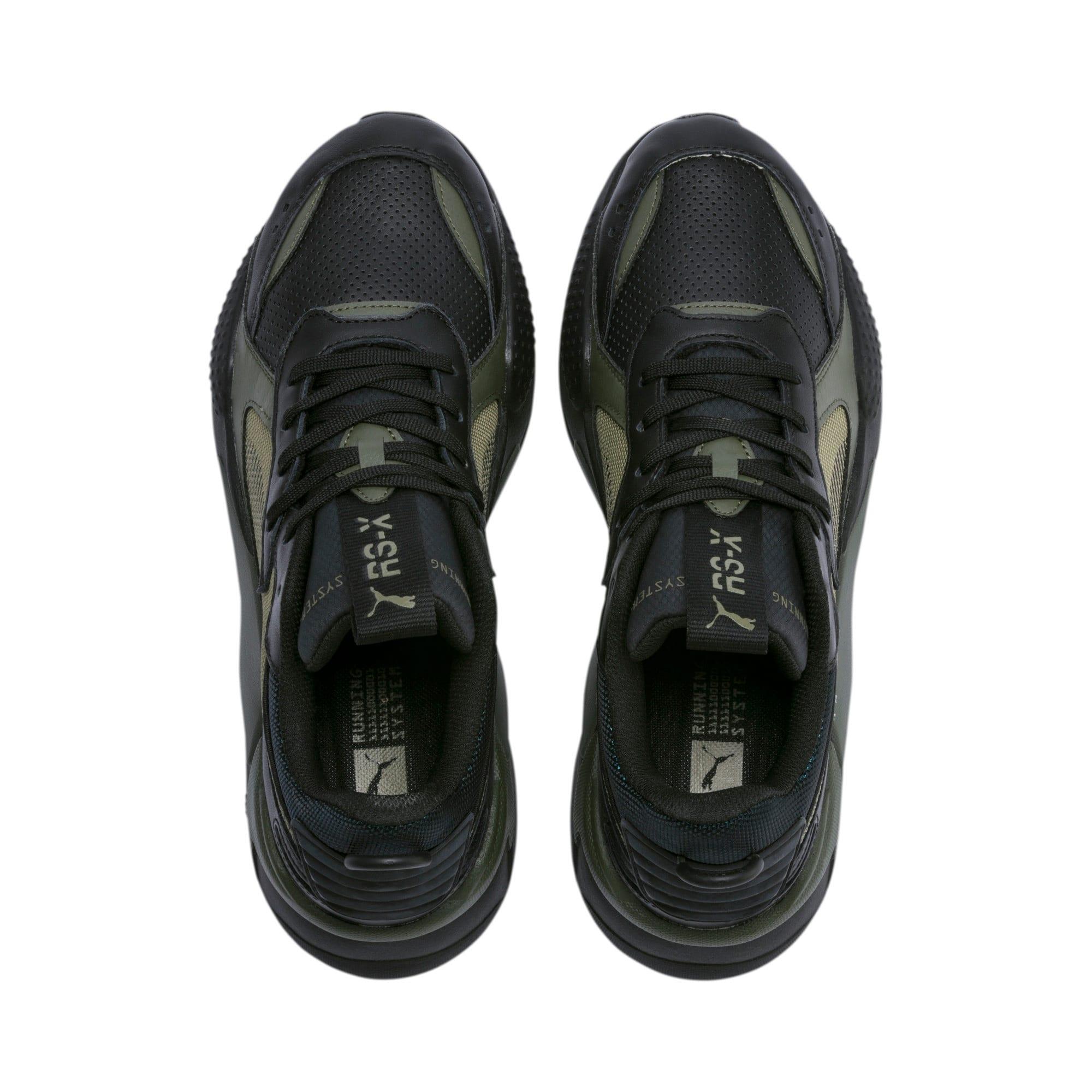 Thumbnail 8 of RS-X Winterised Trainers, Puma Black-Burnt Olive, medium