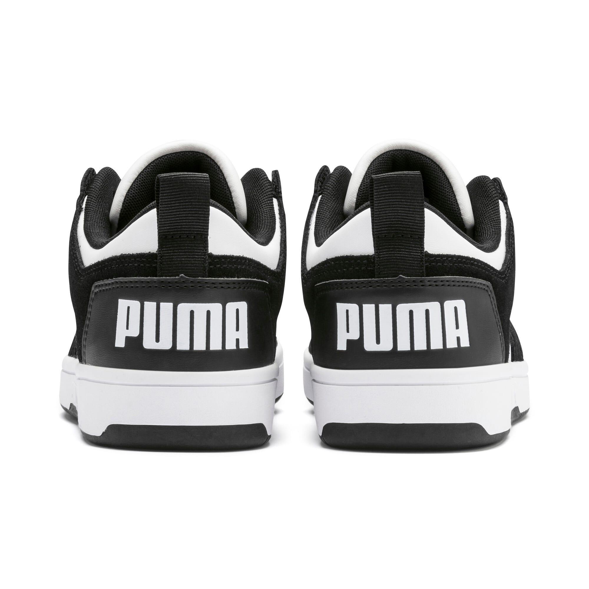 Miniatura 4 de Zapatos deportivos de gamuza PUMA Rebound LayUpLo, Puma Black-Puma White, mediano