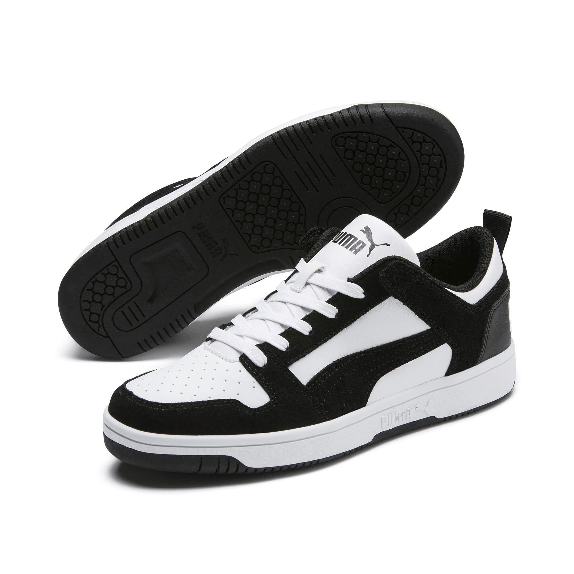Miniatura 2 de Zapatos deportivos de gamuza PUMA Rebound LayUpLo, Puma Black-Puma White, mediano