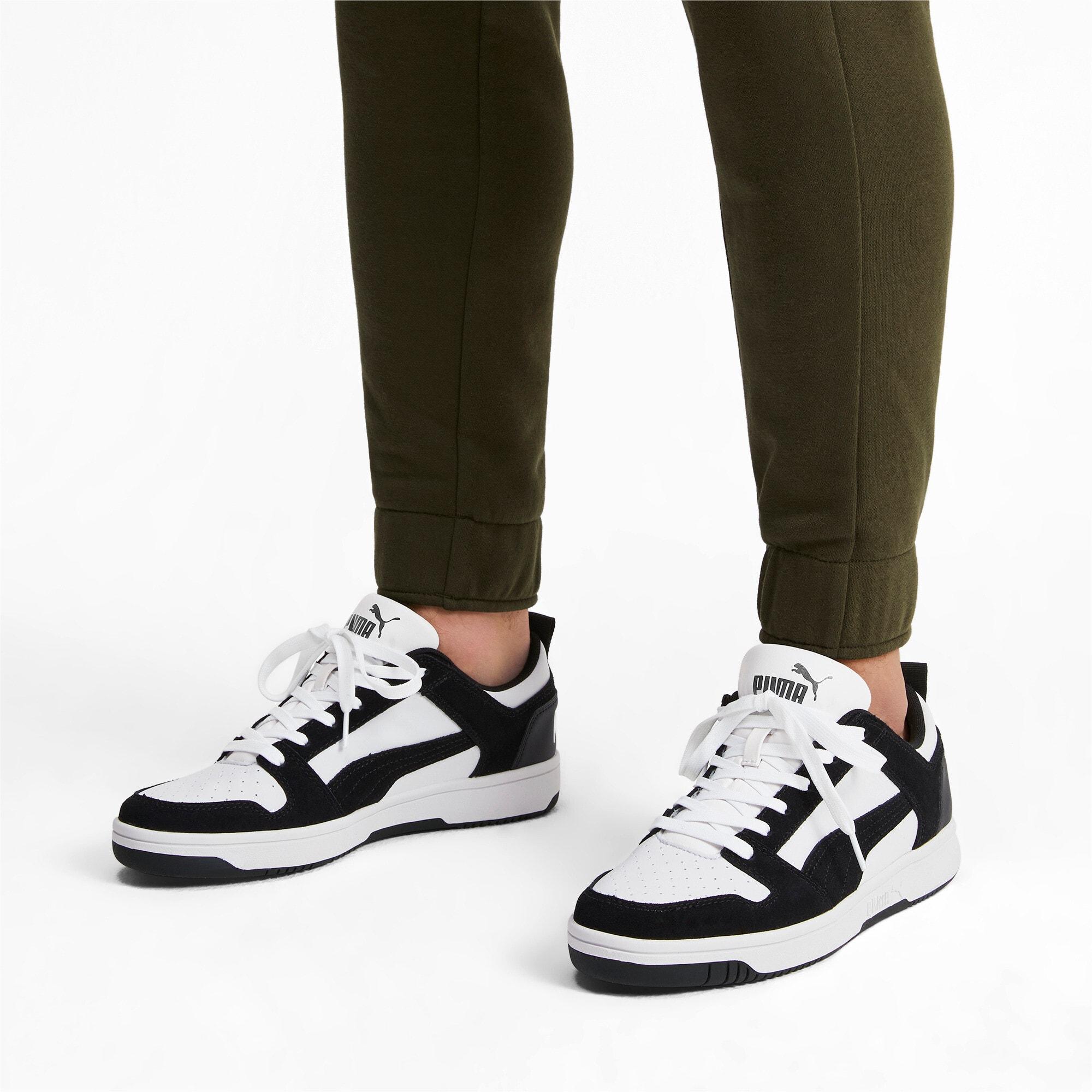 Miniatura 3 de Zapatos deportivos de gamuza PUMA Rebound LayUpLo, Puma Black-Puma White, mediano