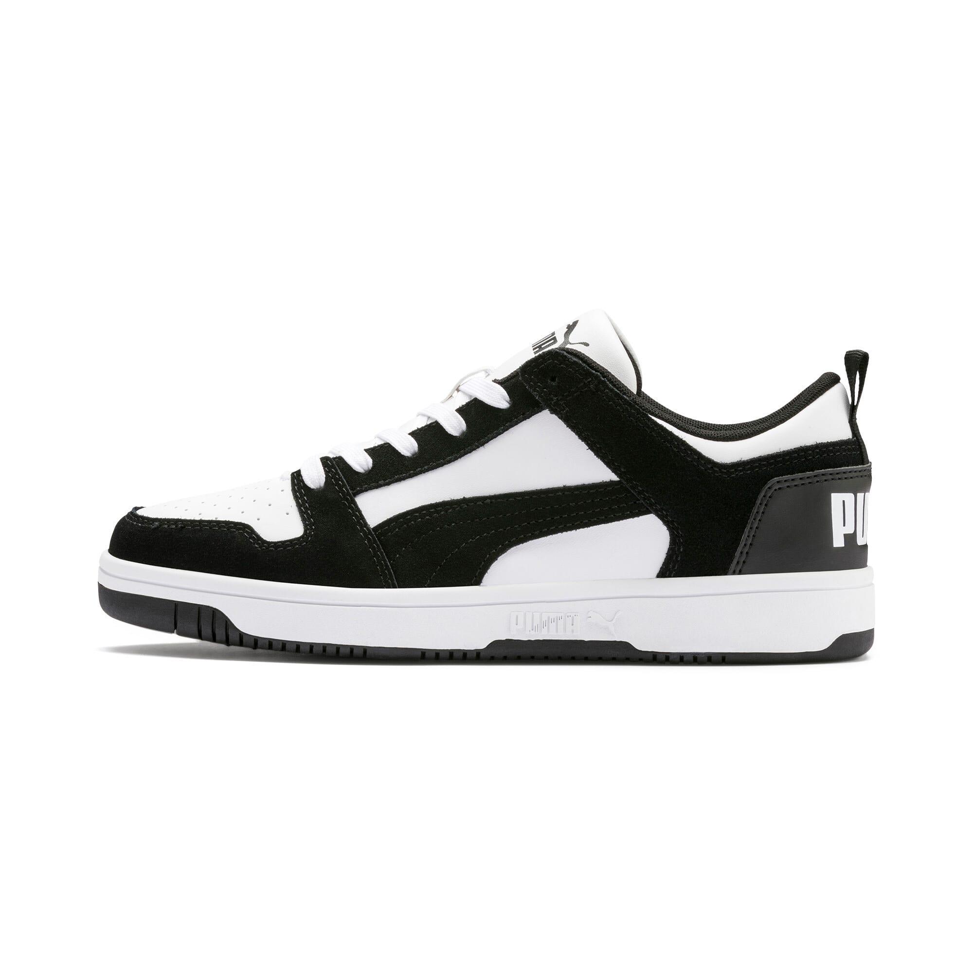 Miniatura 1 de Zapatos deportivos de gamuza PUMA Rebound LayUpLo, Puma Black-Puma White, mediano