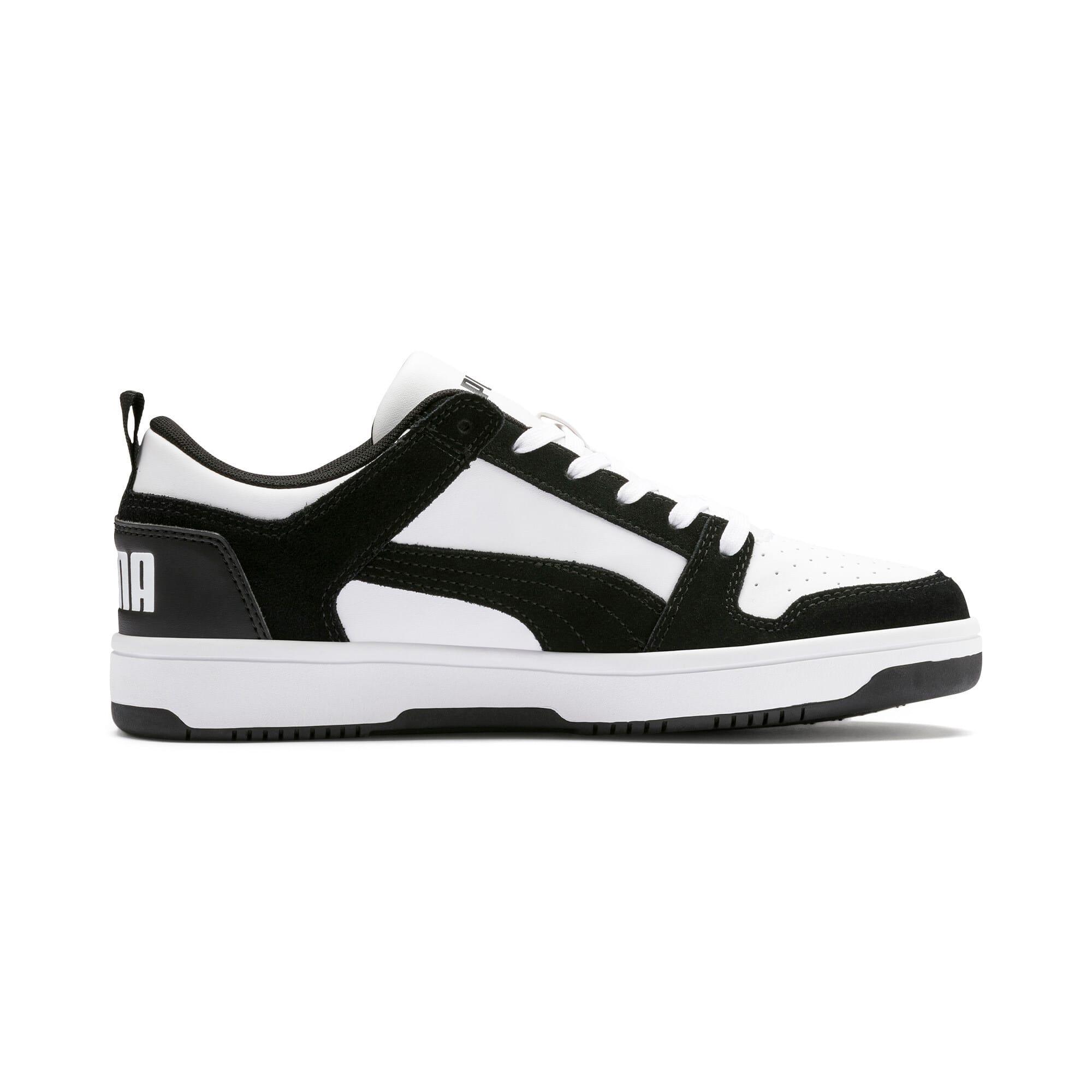 Miniatura 6 de Zapatos deportivos de gamuza PUMA Rebound LayUpLo, Puma Black-Puma White, mediano