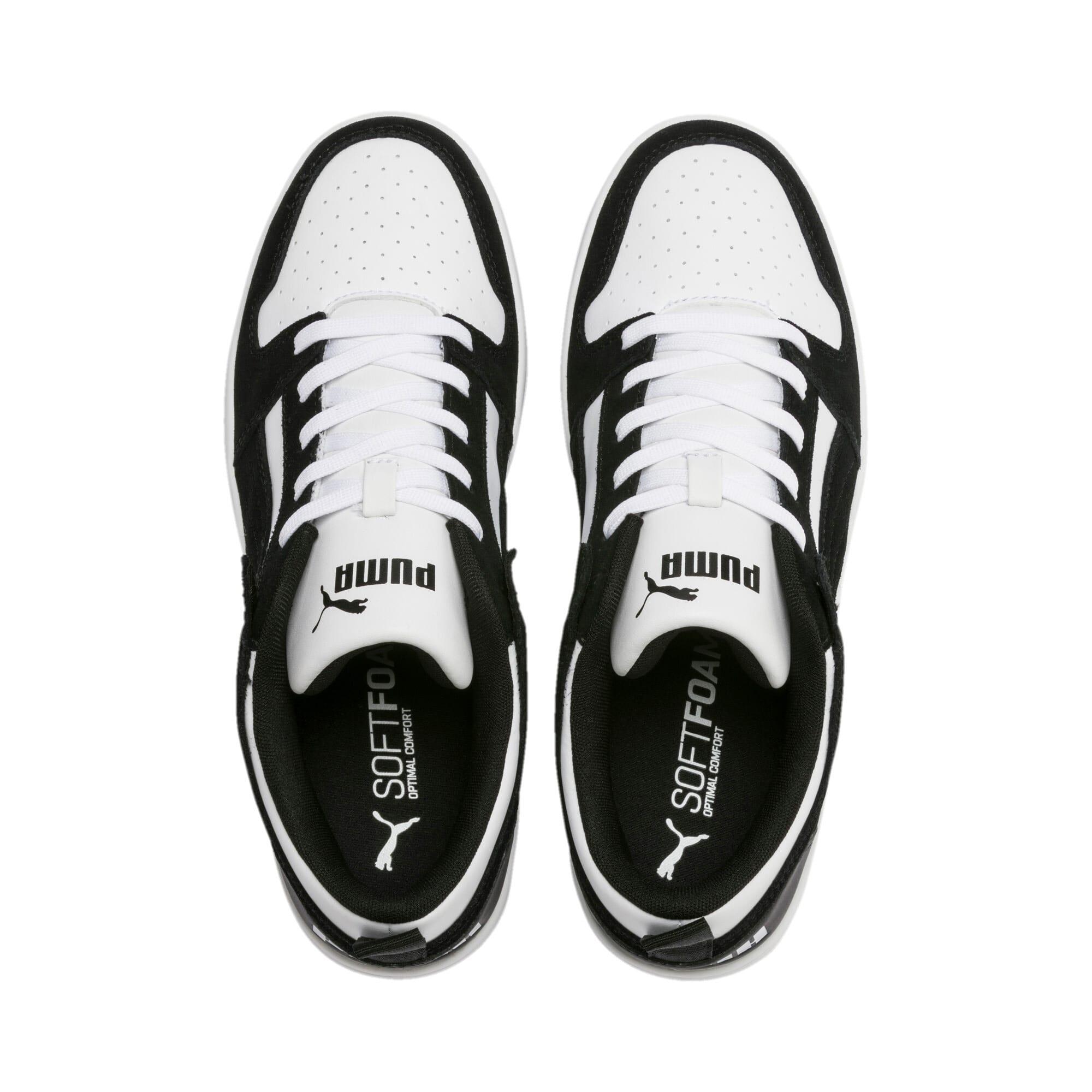 Miniatura 7 de Zapatos deportivos de gamuza PUMA Rebound LayUpLo, Puma Black-Puma White, mediano