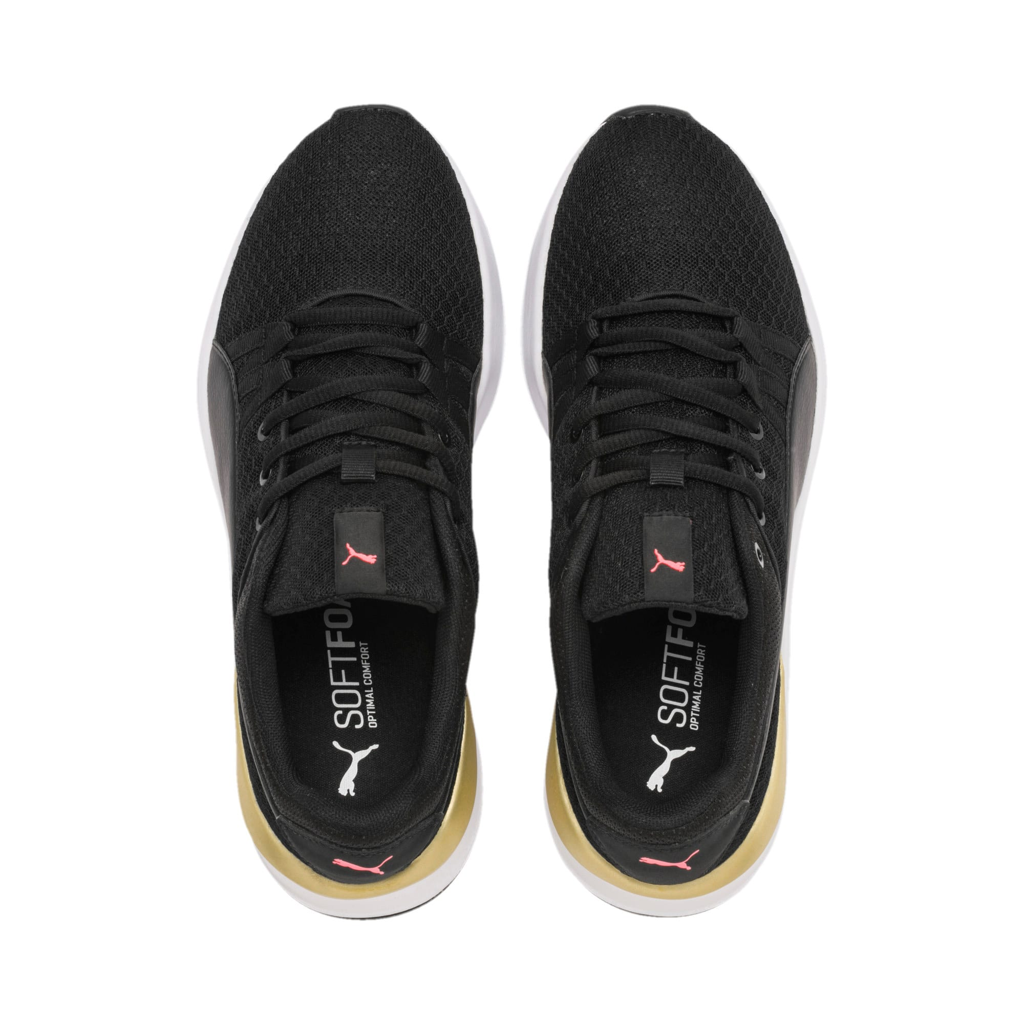 Thumbnail 7 of Adela Trainers, Puma Black-Puma Team Gold, medium