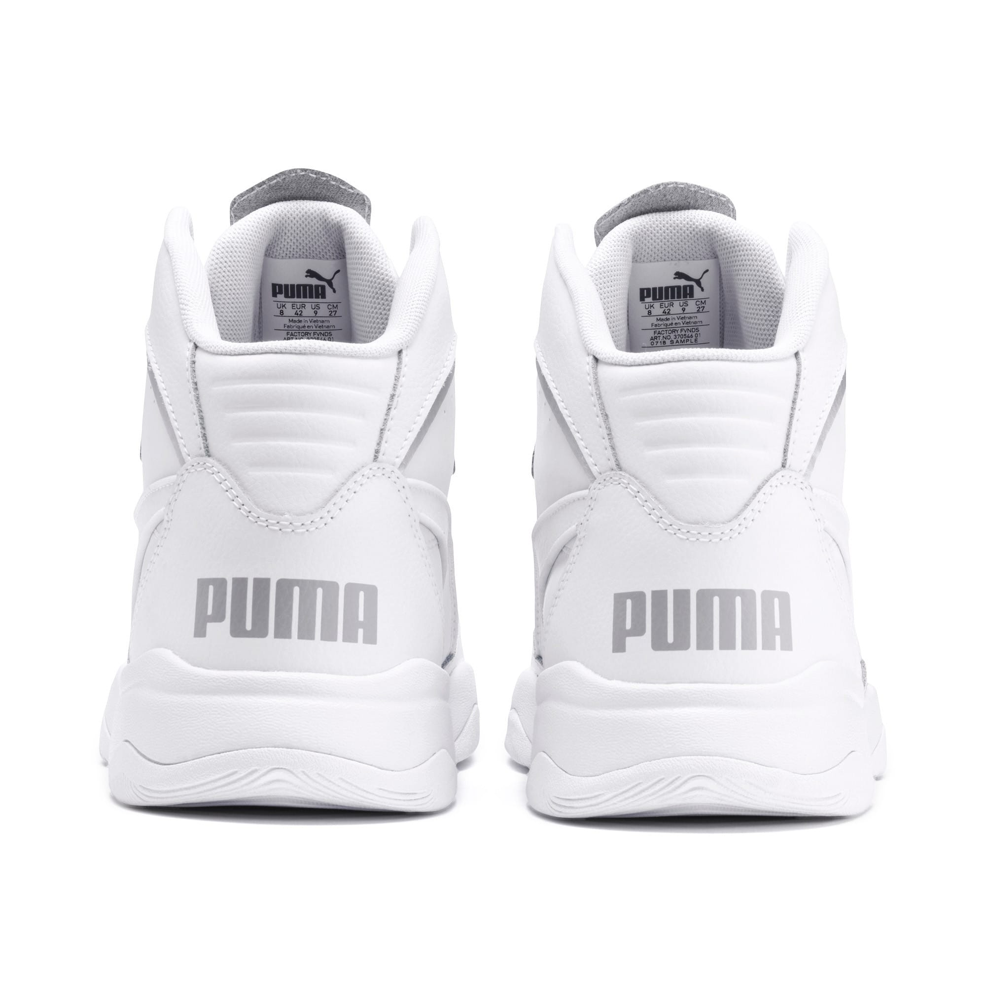 Thumbnail 4 of RB Play-Off Trainers, Puma White-High Rise, medium