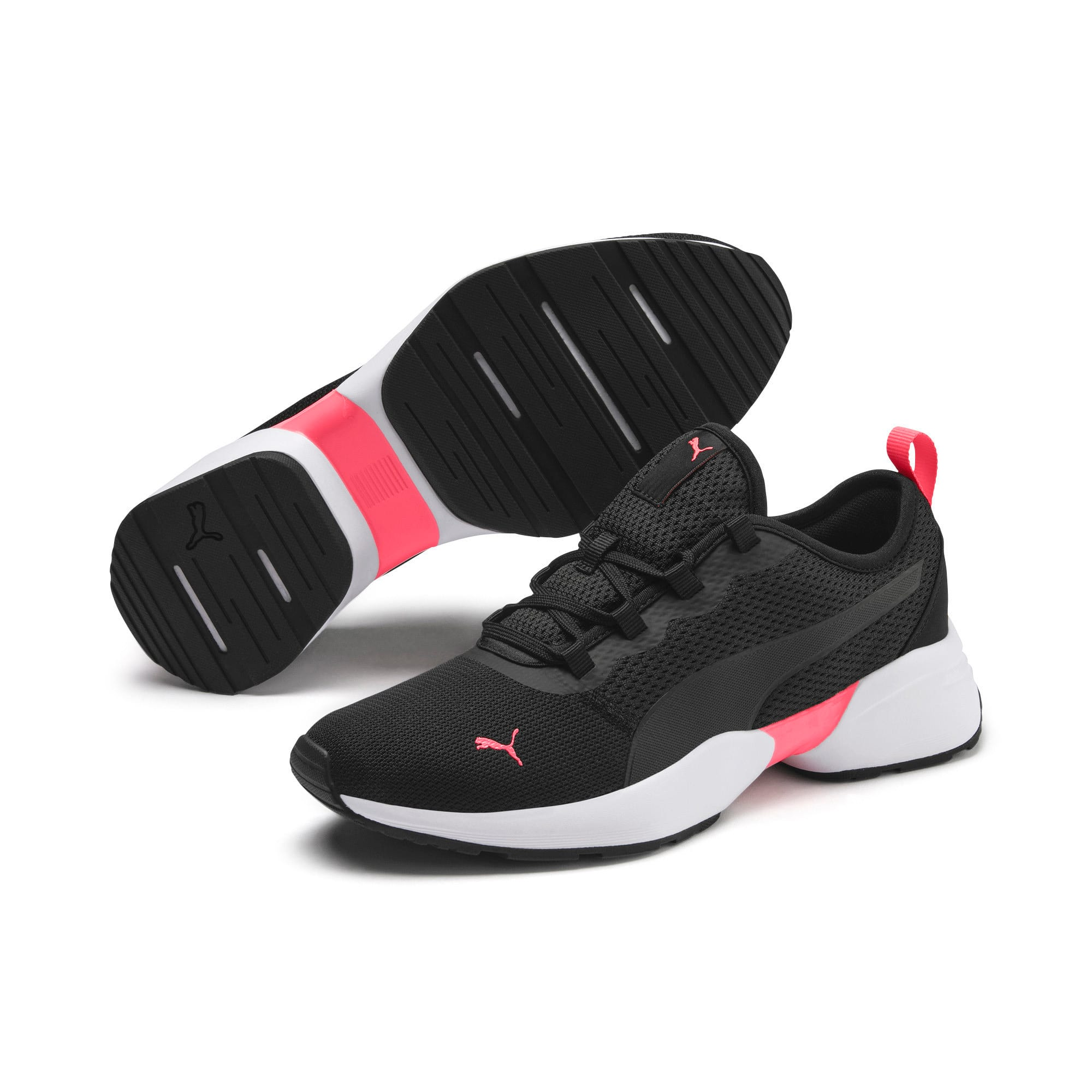 Thumbnail 3 of Sirena Sport Women's Trainers, Puma Black-Pink Alert, medium