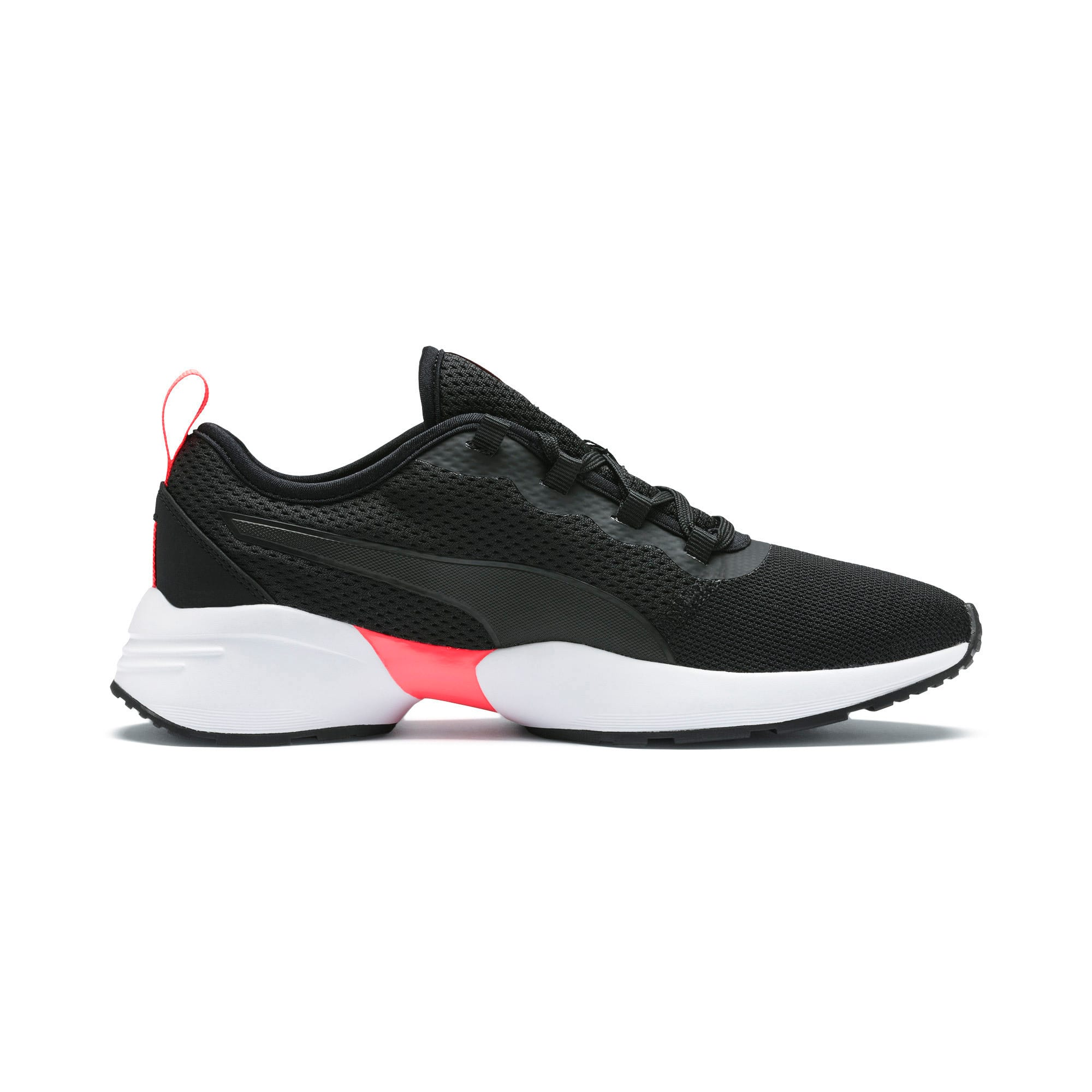 Thumbnail 6 of Sirena Sport Women's Trainers, Puma Black-Pink Alert, medium