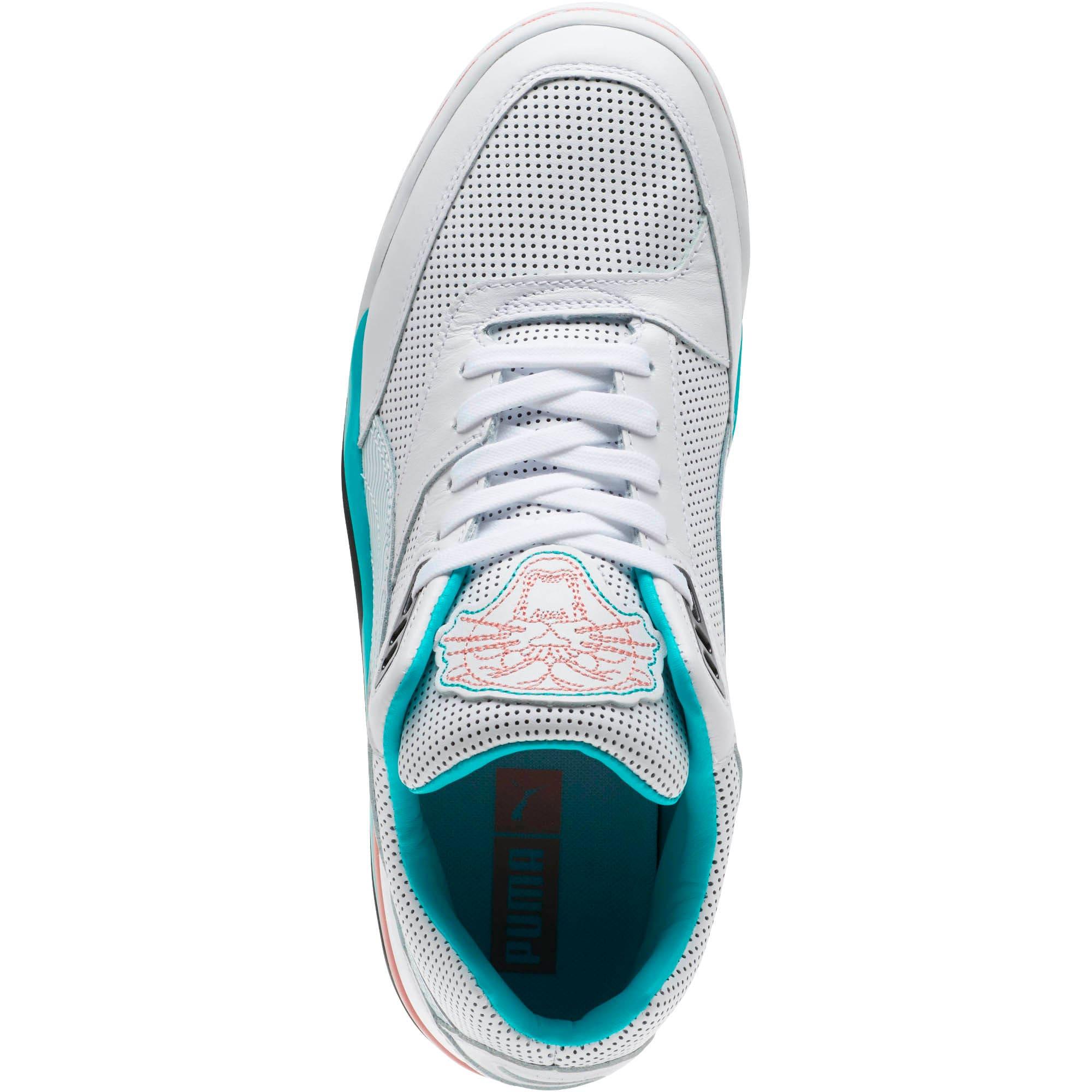 Thumbnail 5 of Palace Guard Last Dayz Men's Sneakers, Puma White-Geranium, medium