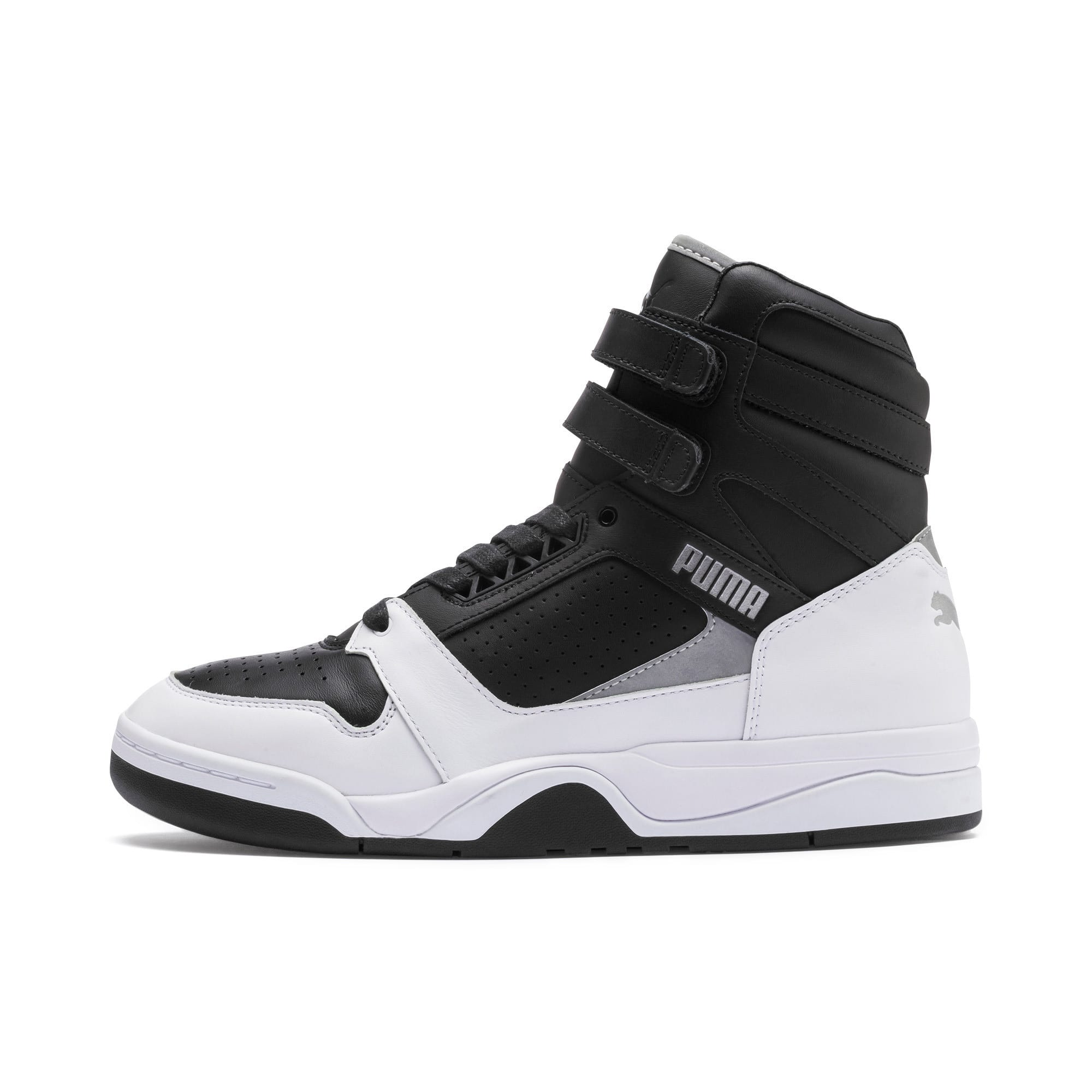 Thumbnail 1 of Palace Guard Mid Moto-X Sneakers, Puma Black-Puma Silver-, medium