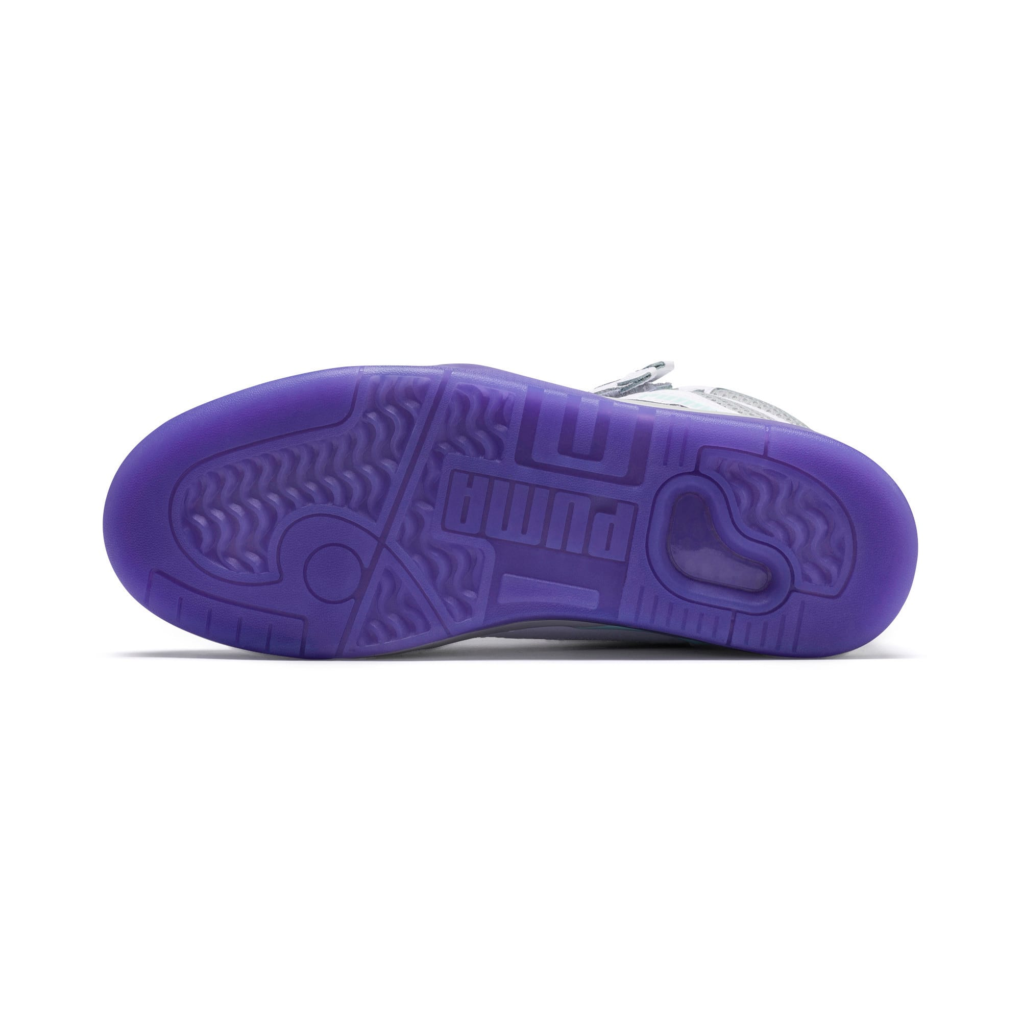Thumbnail 3 of Palace Guard Mid Easter Sneakers, PWht-Dandelion-Prism Violet, medium
