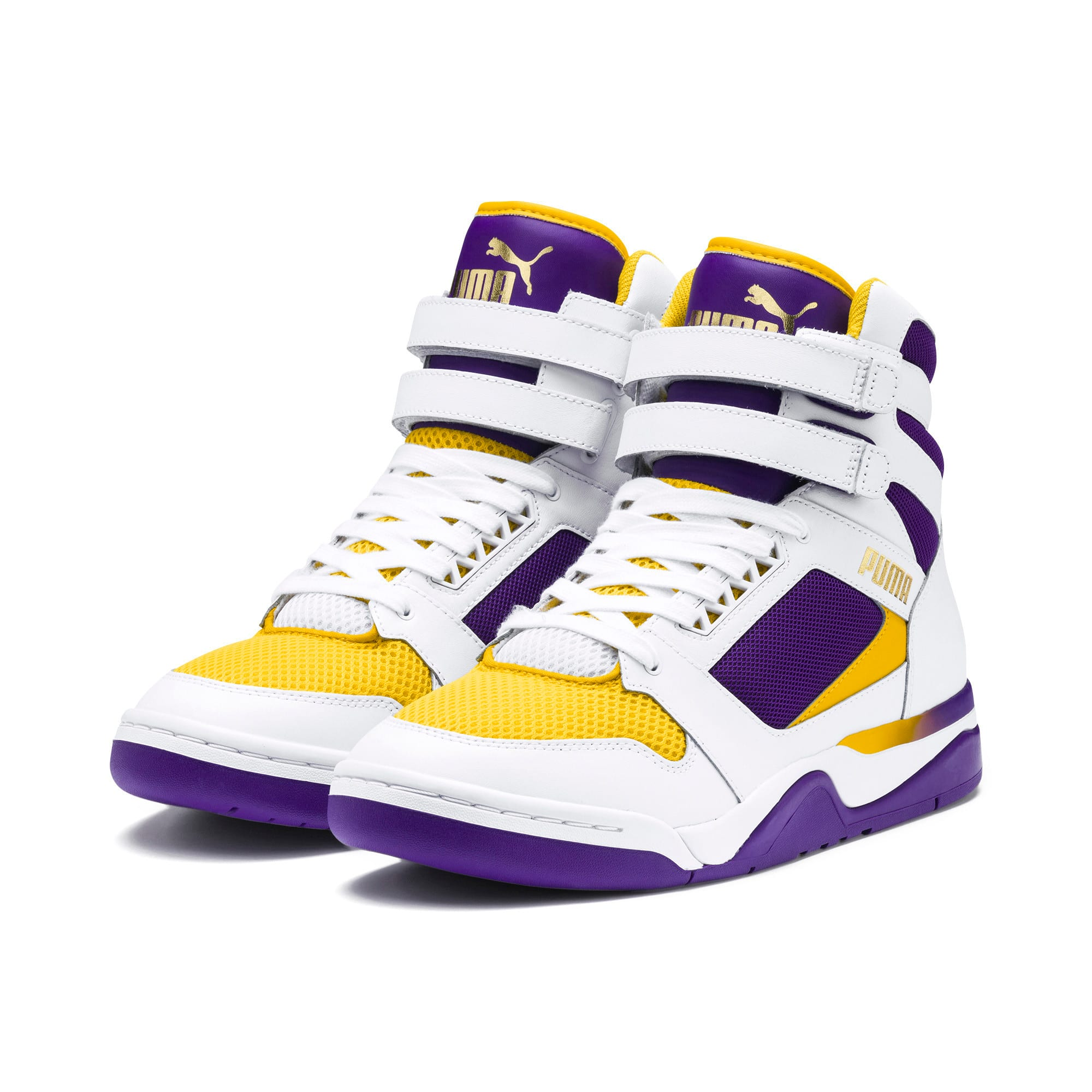 Thumbnail 2 of Palace Guard Mid Finals Sneakers, Puma White-Prism Violet-, medium