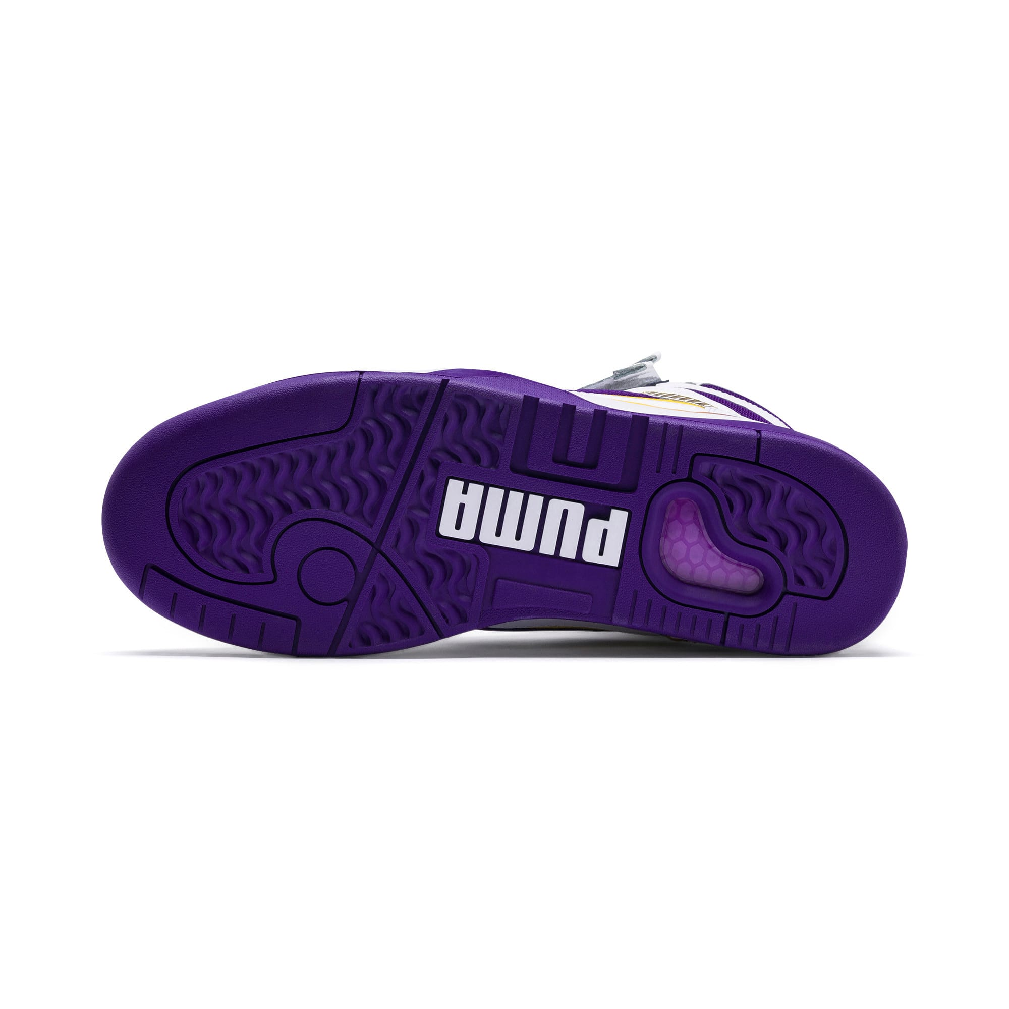Thumbnail 3 of Palace Guard Mid Finals Sneakers, Puma White-Prism Violet-, medium