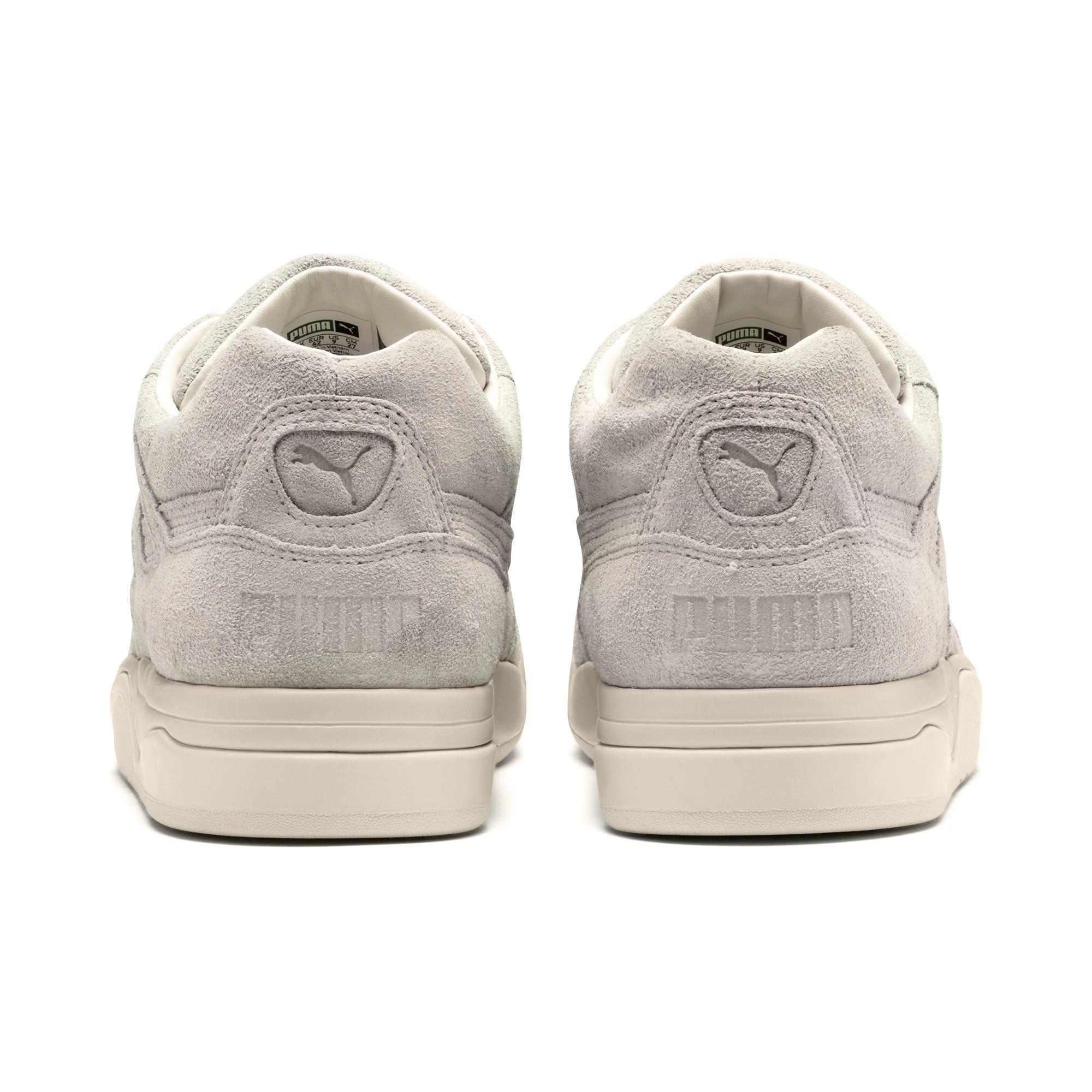 Thumbnail 3 of Palace Guard 4th of July Sneakers, Whisper White-Puma Black, medium