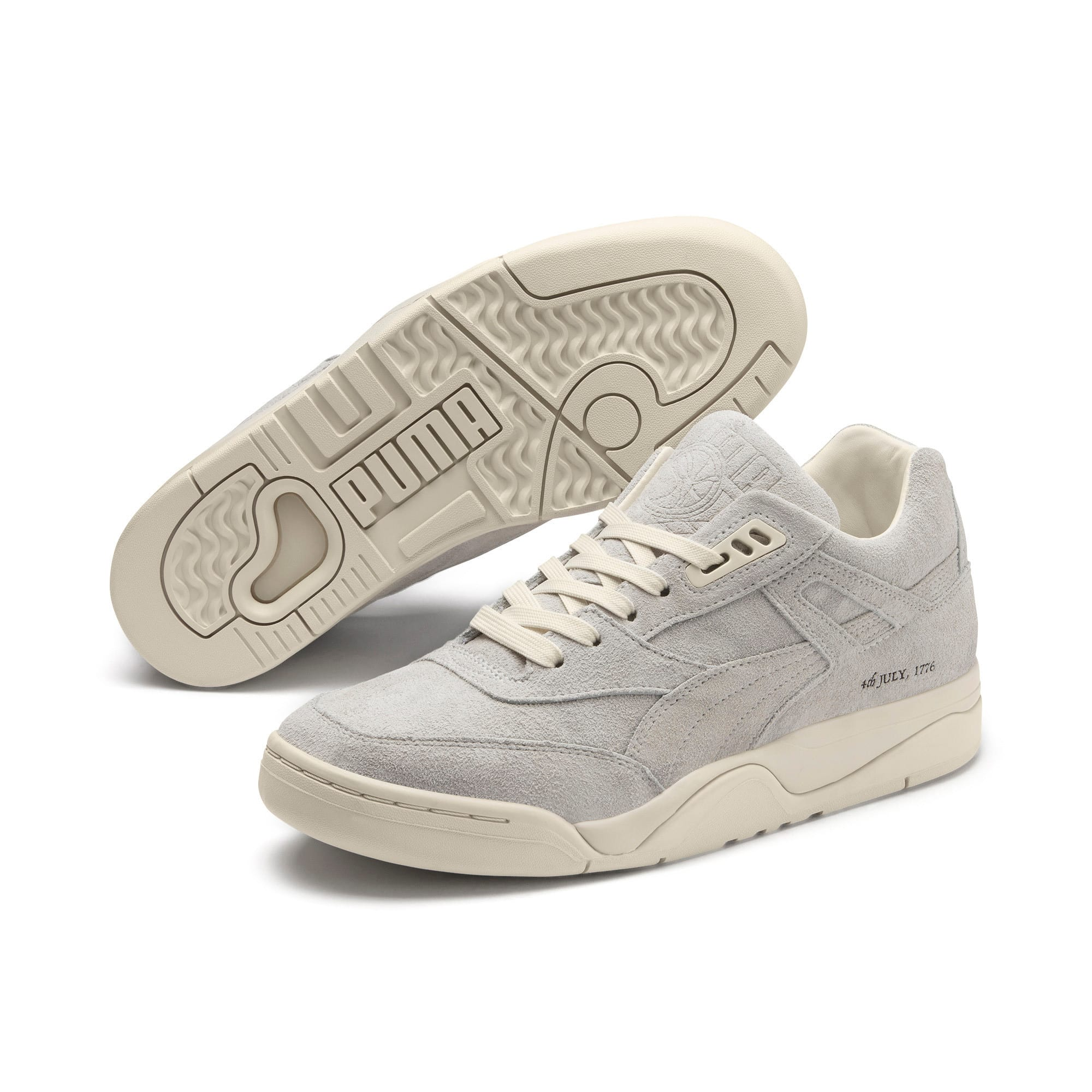 Thumbnail 2 of Palace Guard 4th of July Sneakers, Whisper White-Puma Black, medium