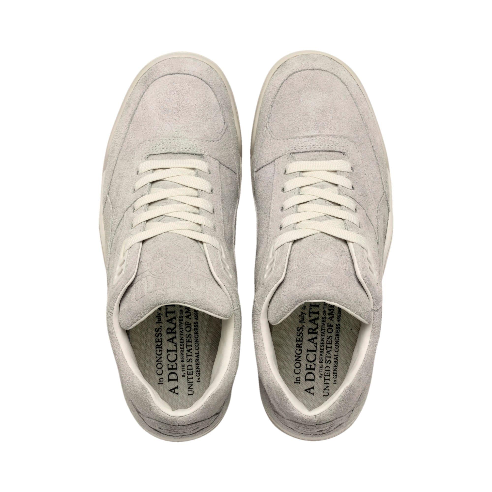 Thumbnail 6 of Palace Guard 4th of July Sneakers, Whisper White-Puma Black, medium