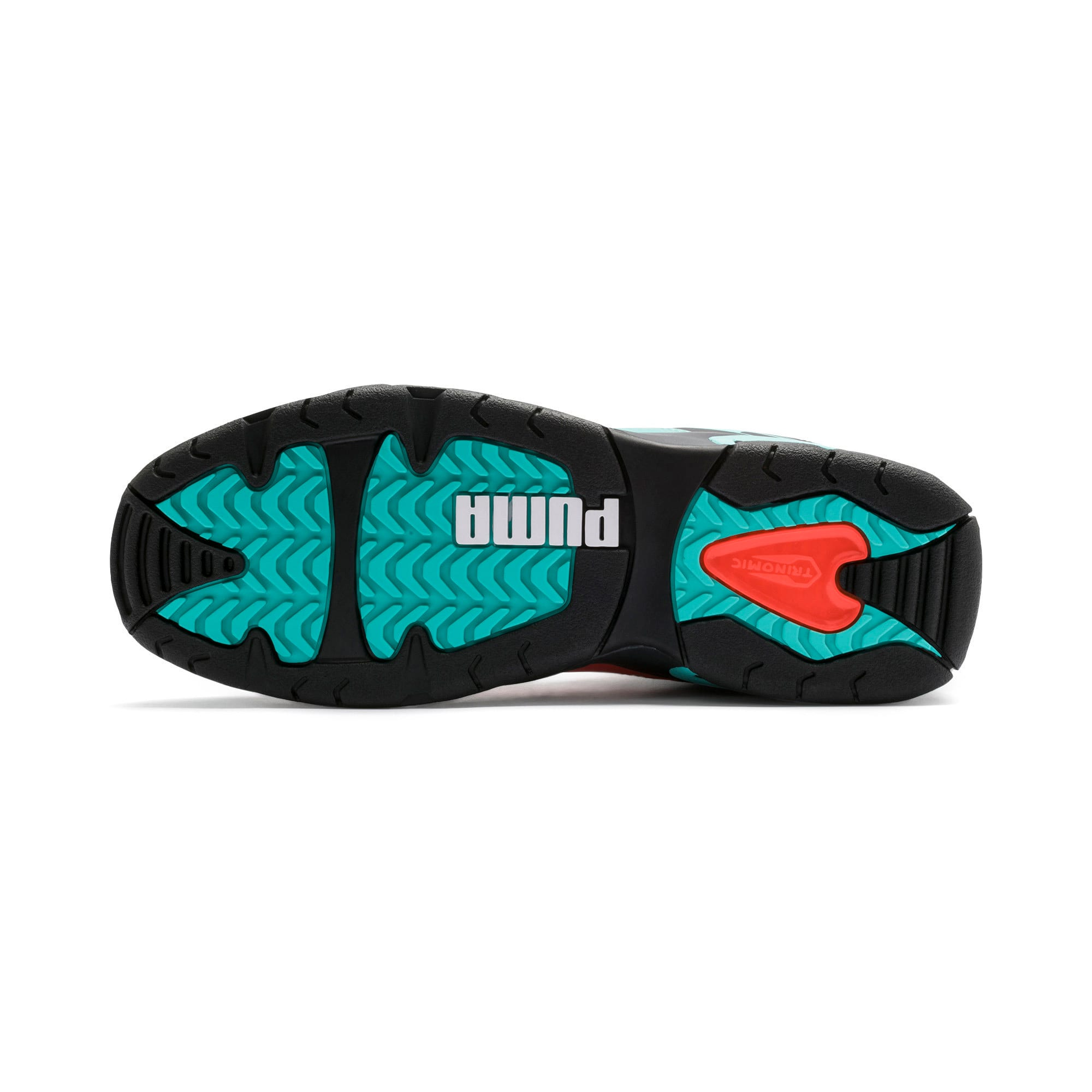 Thumbnail 5 of Source Mid Buzzer Sneakers, P Blk-Nrgy Red-BlueTurquoise, medium