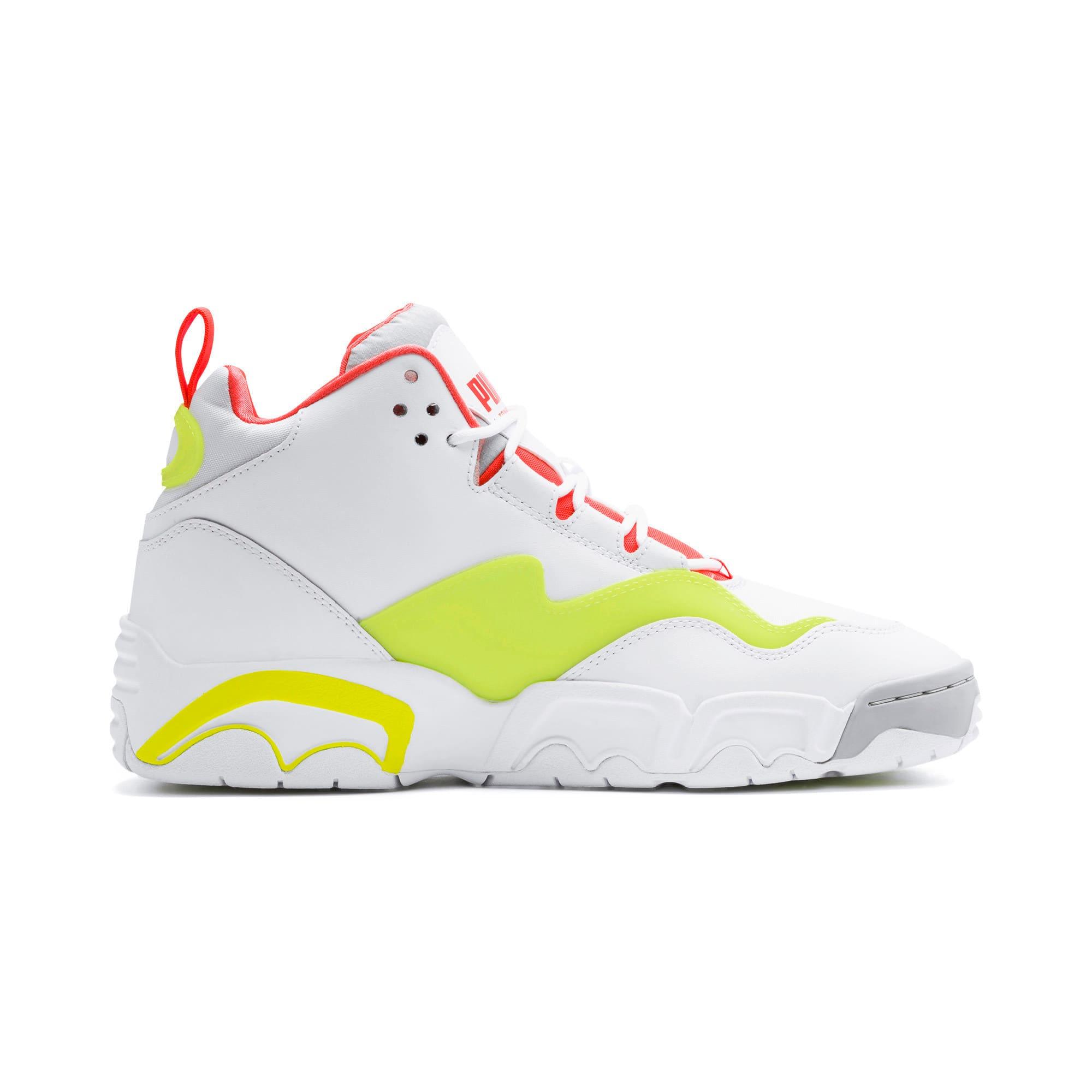 Thumbnail 6 of Source Mid Buzzer Sneakers, P Wht-Yellow Alert-High Rise, medium