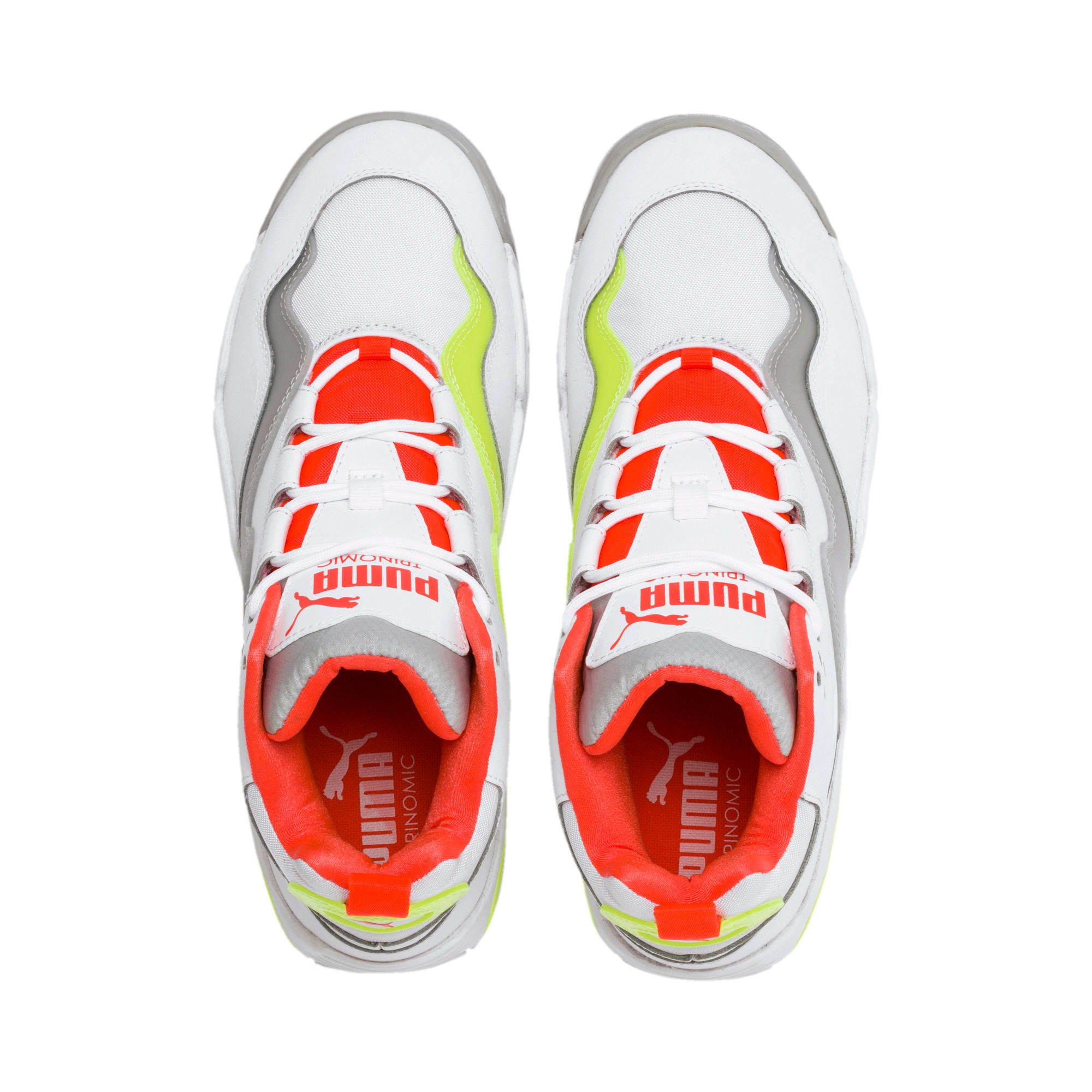 Thumbnail 7 of Source Mid Buzzer Sneakers, P Wht-Yellow Alert-High Rise, medium
