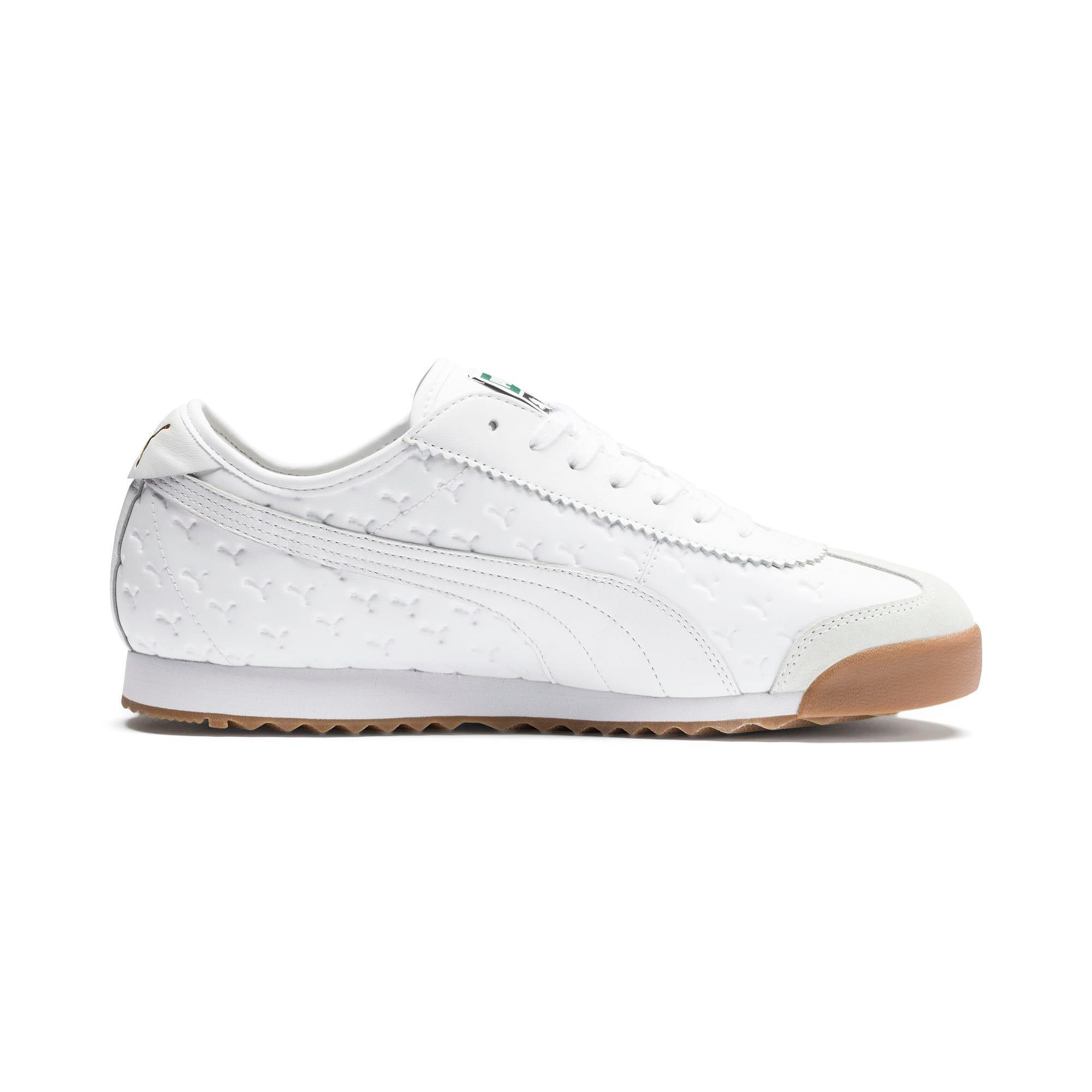 Thumbnail 6 of Roma '68 Gum Sneakers, Puma White-Puma White, medium