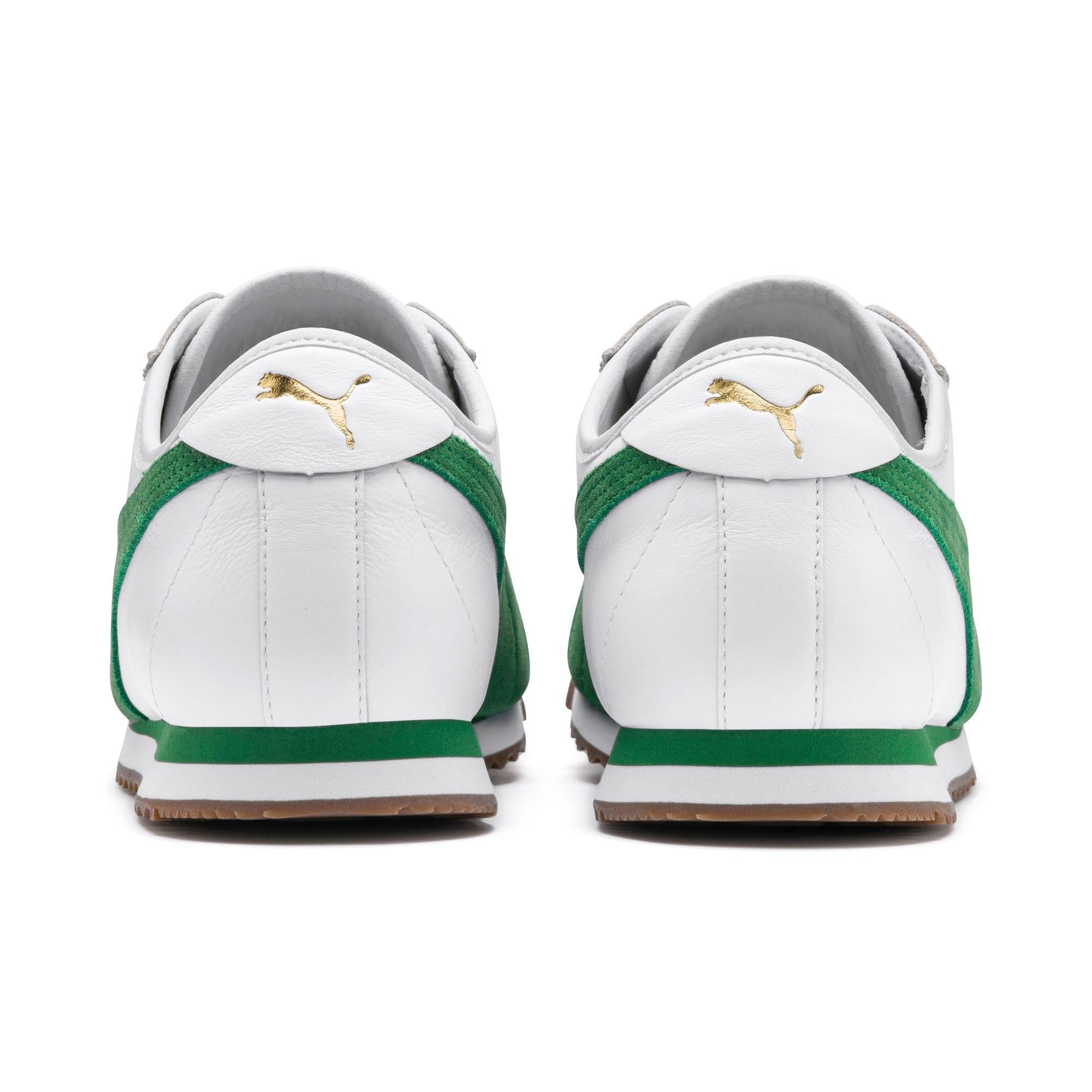 Thumbnail 4 of ローマ '68 OG スニーカー, Puma White-Amazon Green, medium-JPN