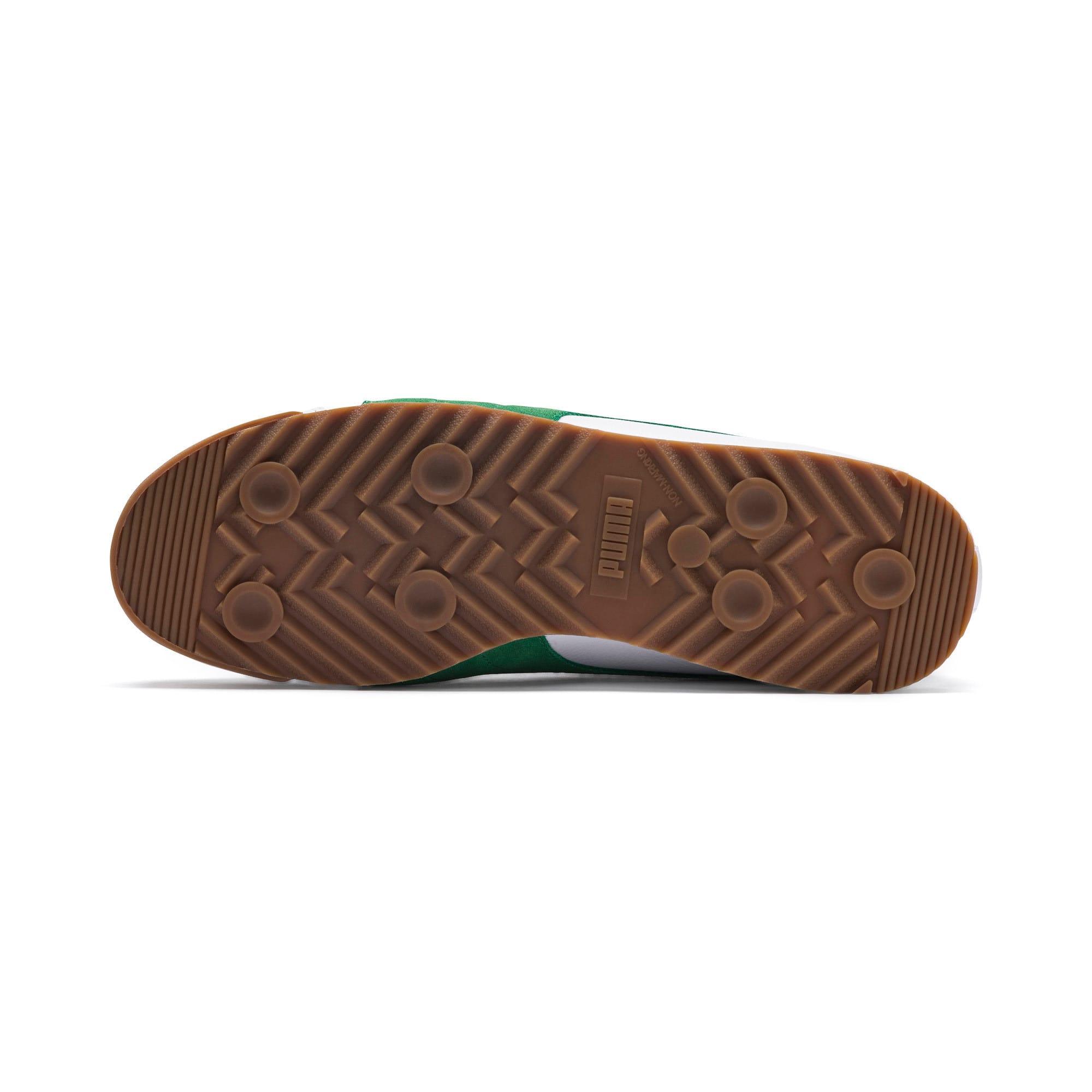 Thumbnail 5 of Roma '68 OG Sneakers, Puma White-Amazon Green, medium