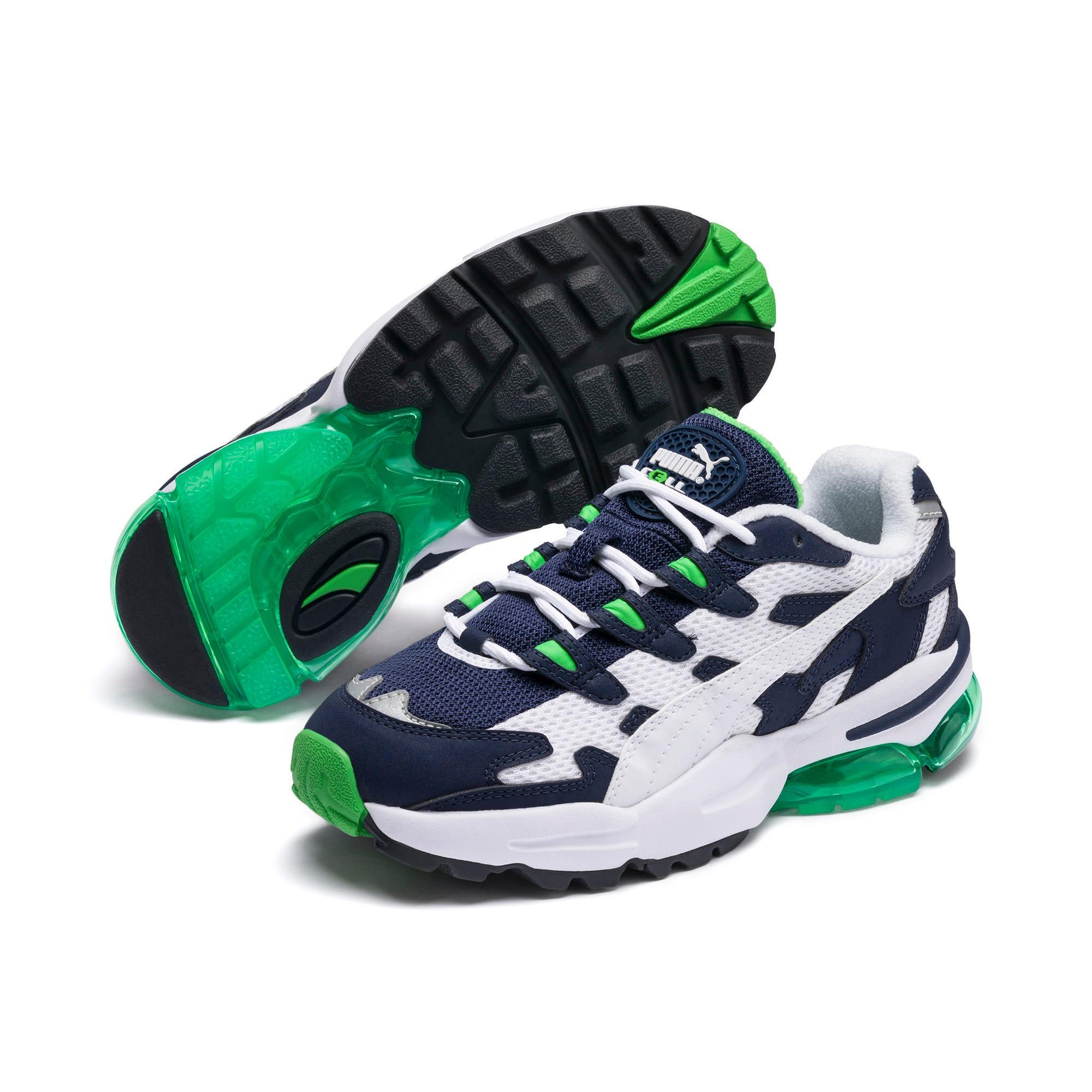Thumbnail 2 of CELL Alien OG Sneakers JR, Puma White-Peacoat, medium