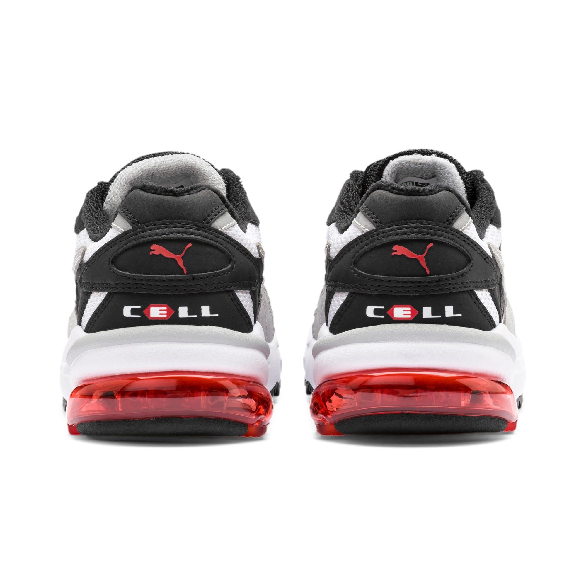 Thumbnail 3 of CELL Alien OG Sneakers JR, Puma White-High Risk Red, medium