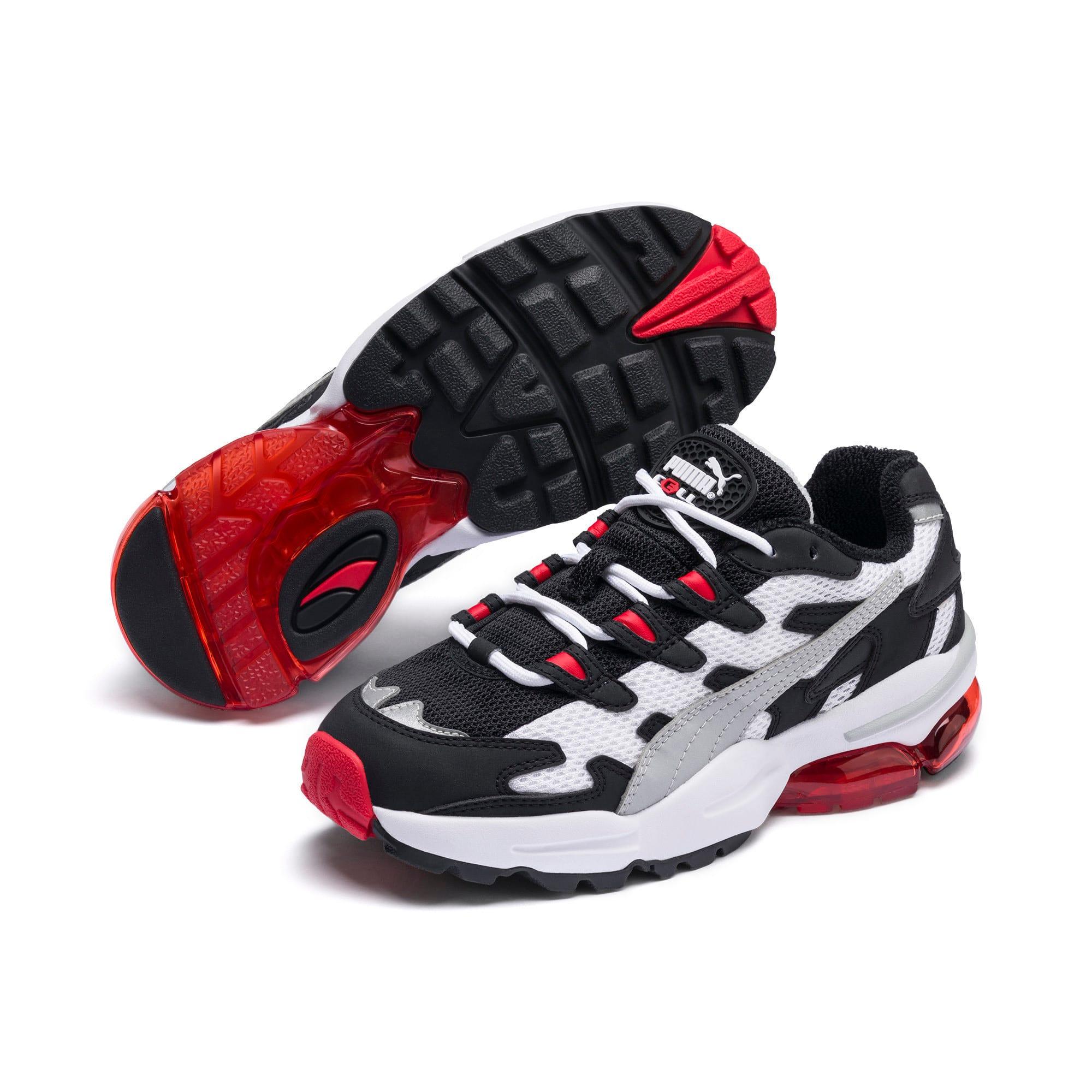 Thumbnail 2 of CELL Alien OG Sneakers JR, Puma White-High Risk Red, medium