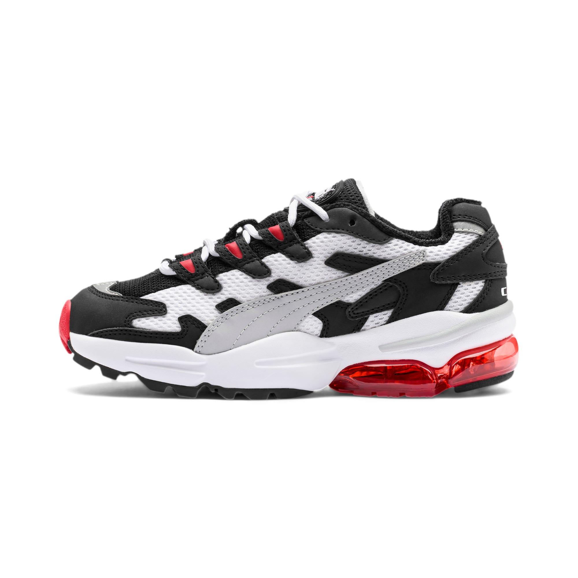 Thumbnail 1 of CELL Alien OG Sneakers JR, Puma White-High Risk Red, medium