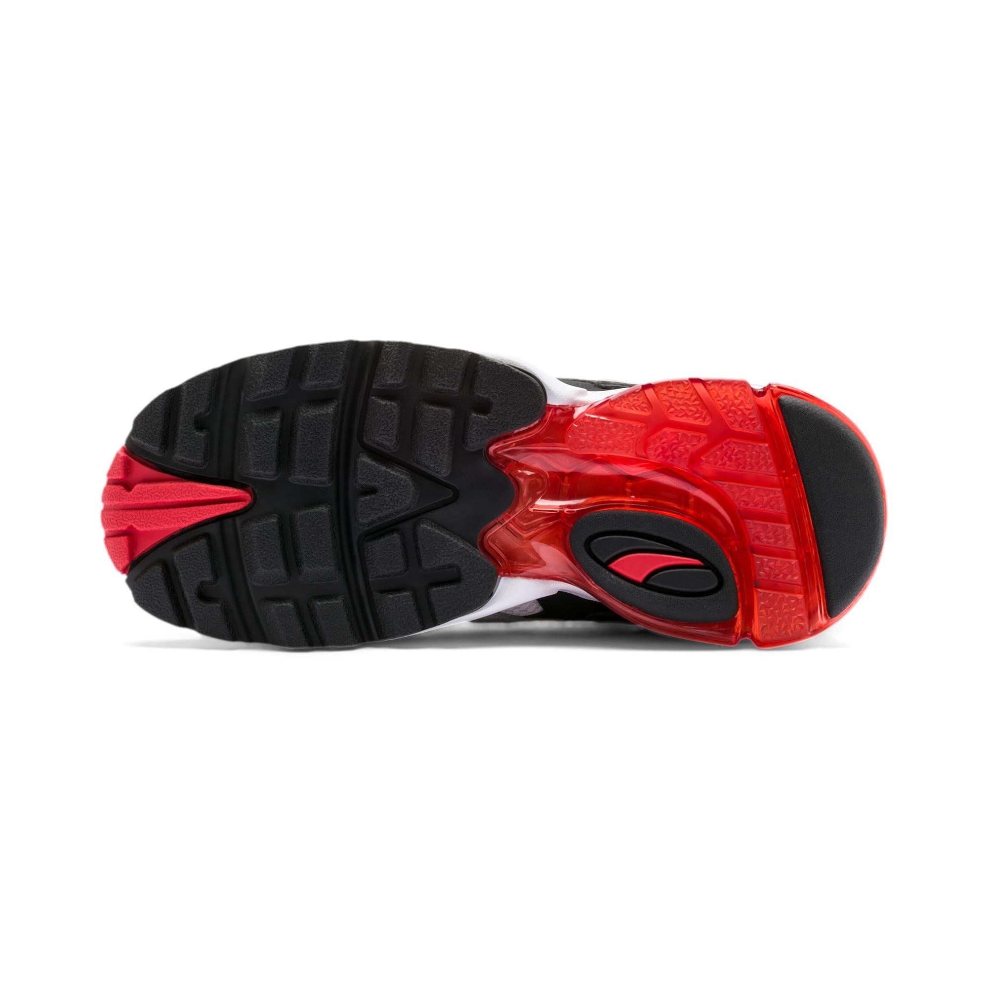 Thumbnail 4 of CELL Alien OG Sneakers JR, Puma White-High Risk Red, medium