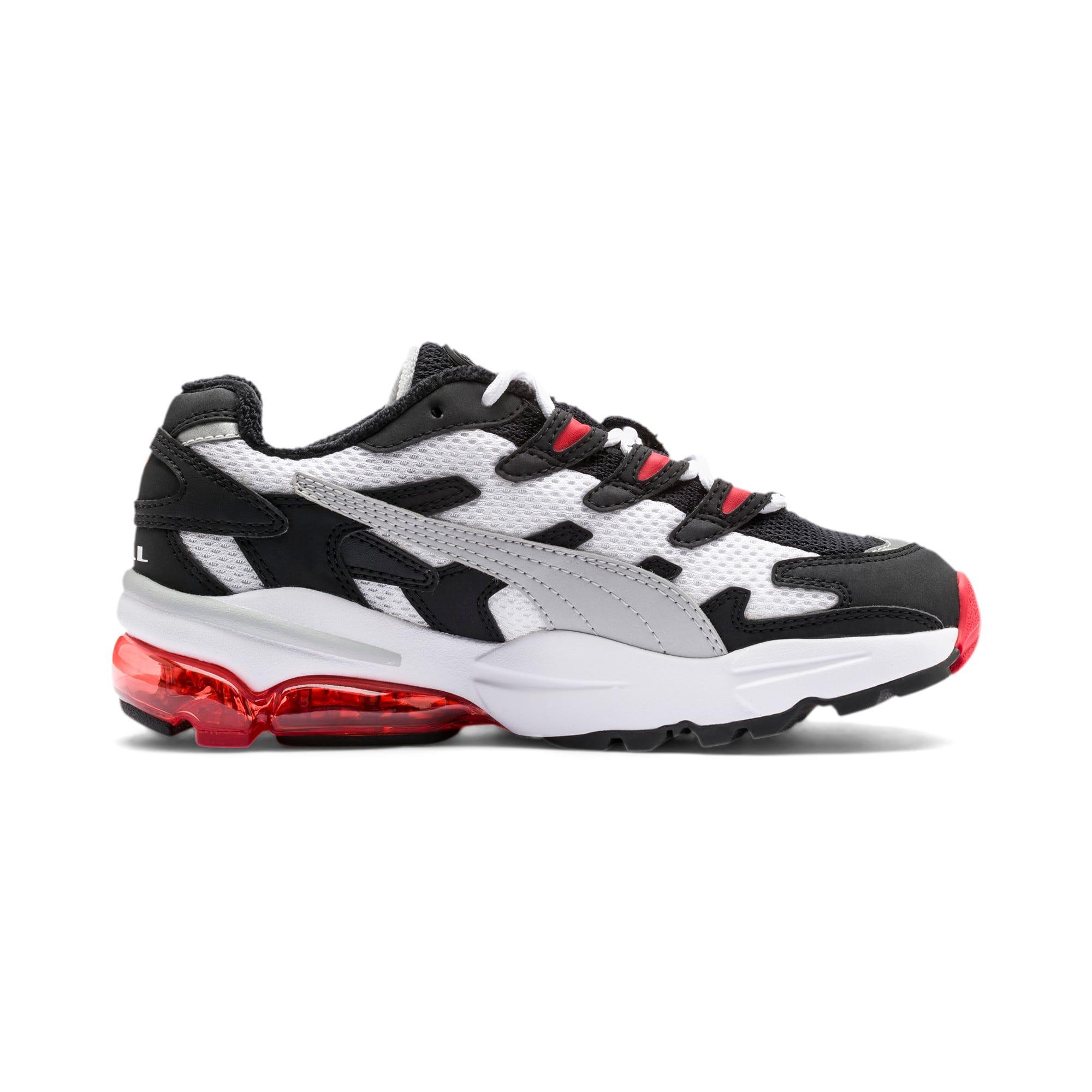 Thumbnail 5 of CELL Alien OG Sneakers JR, Puma White-High Risk Red, medium
