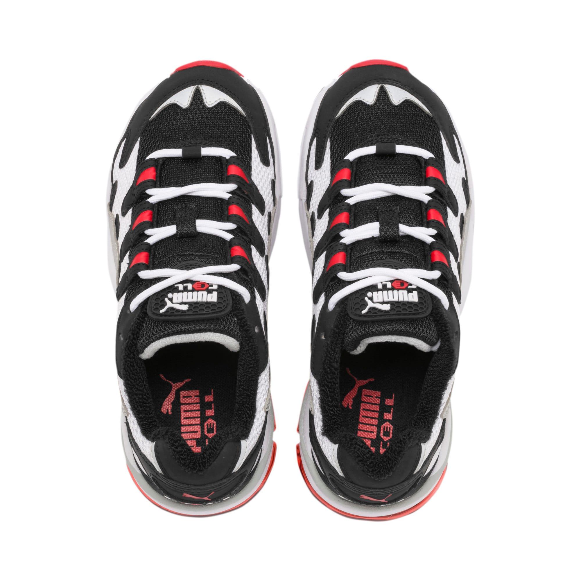 Thumbnail 6 of CELL Alien OG Sneakers JR, Puma White-High Risk Red, medium