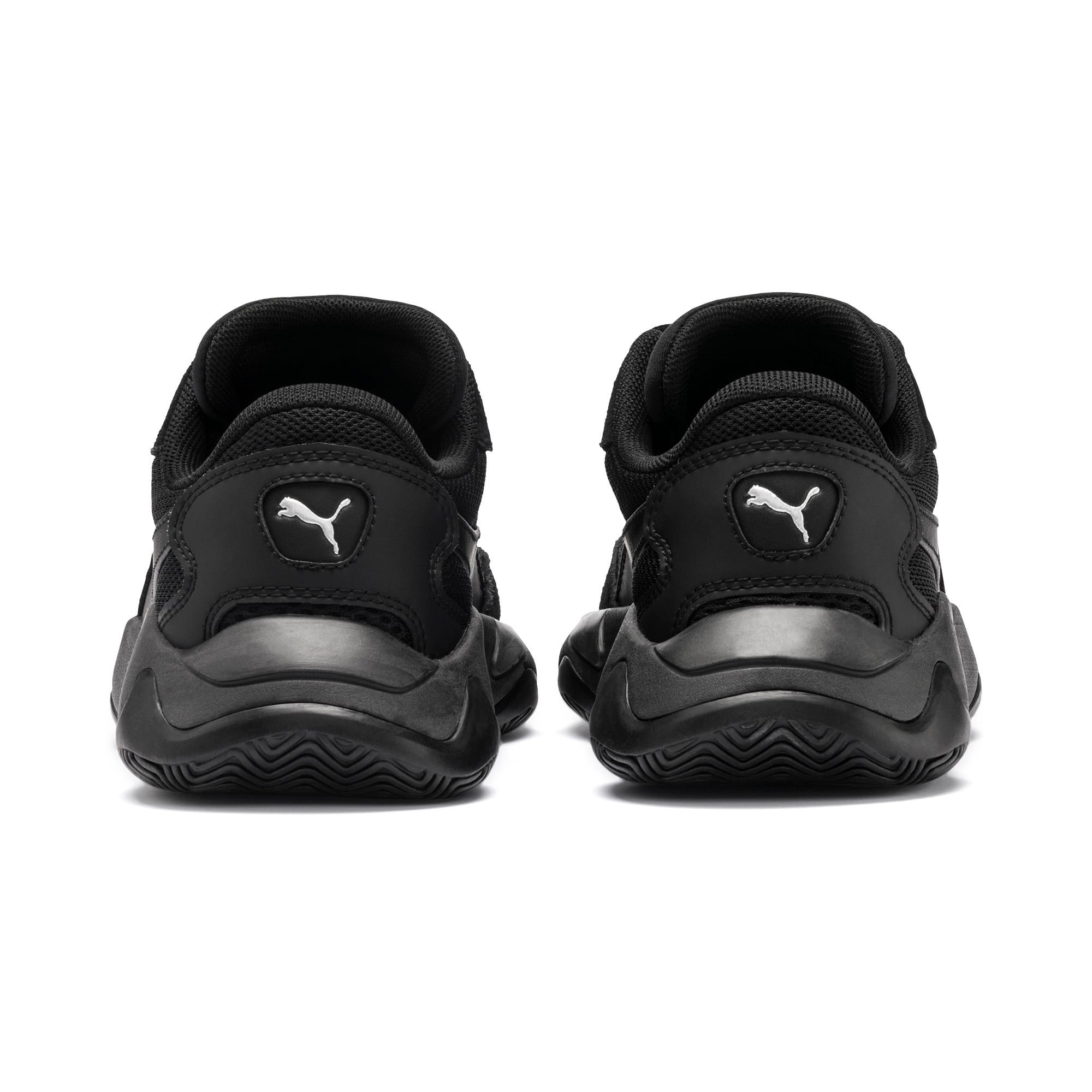 Thumbnail 3 of Storm Origin Youth Sneaker, Puma Black, medium