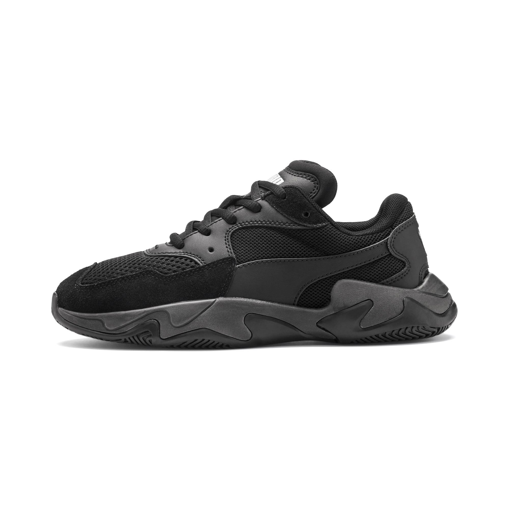 Thumbnail 1 of Storm Origin Youth Sneaker, Puma Black, medium