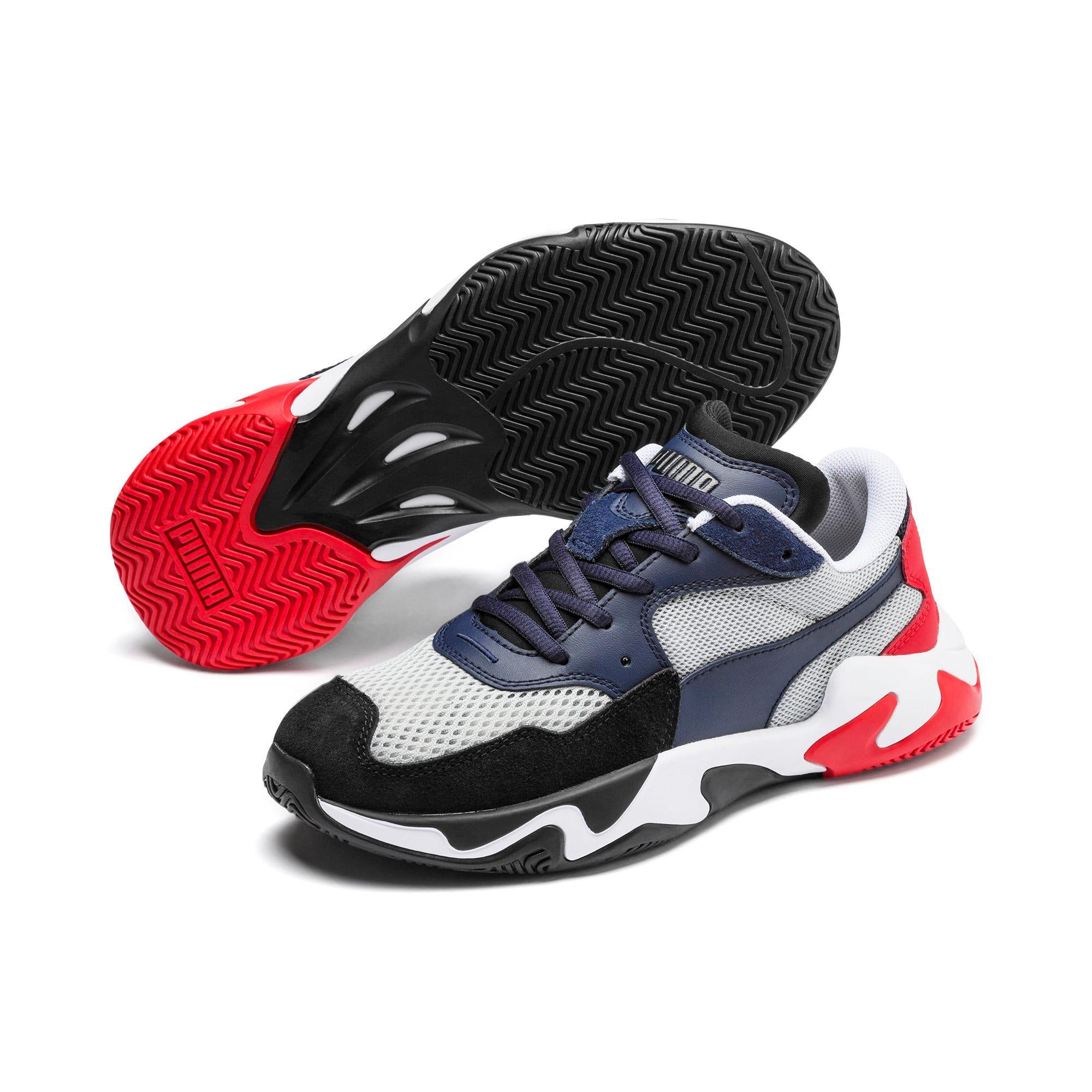 Thumbnail 2 of Storm Origin Sneakers JR, Puma Black-High Rise, medium