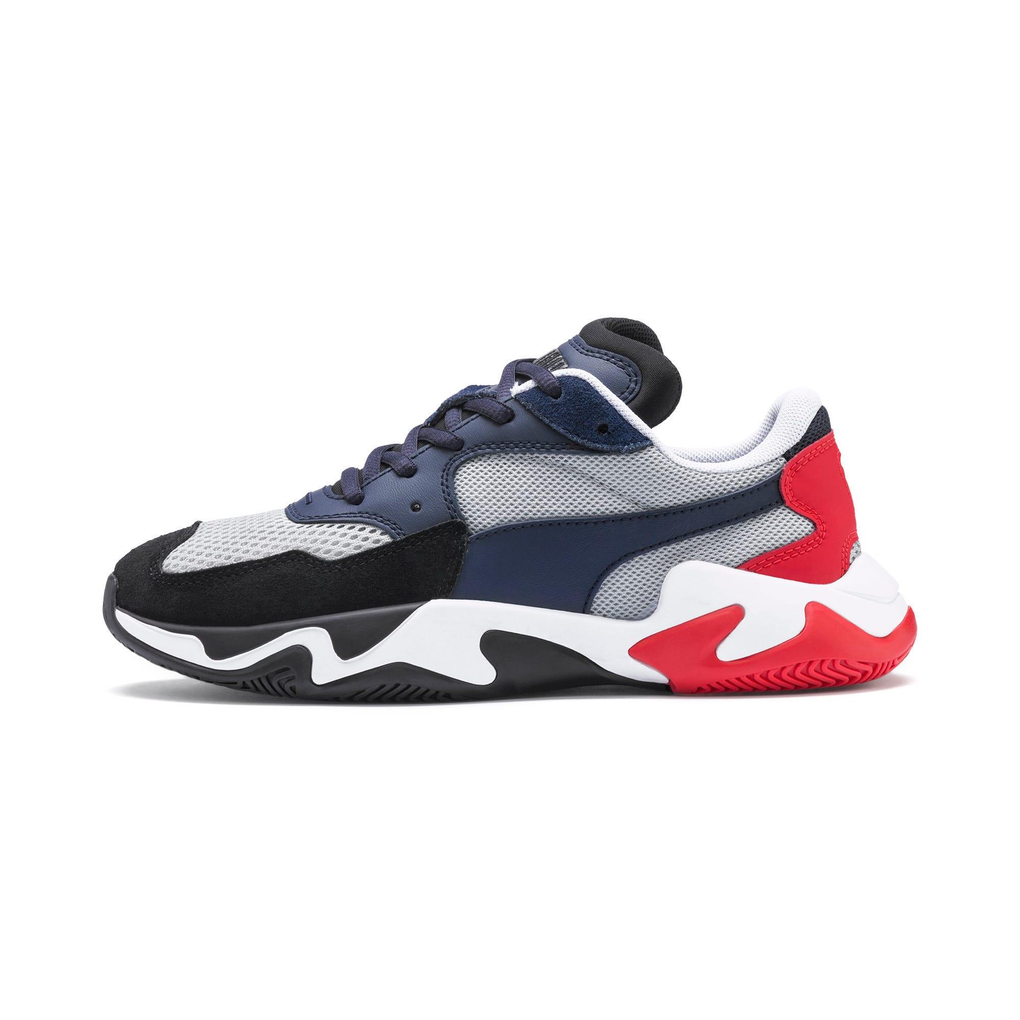 Thumbnail 1 of Storm Origin Sneakers JR, Puma Black-High Rise, medium