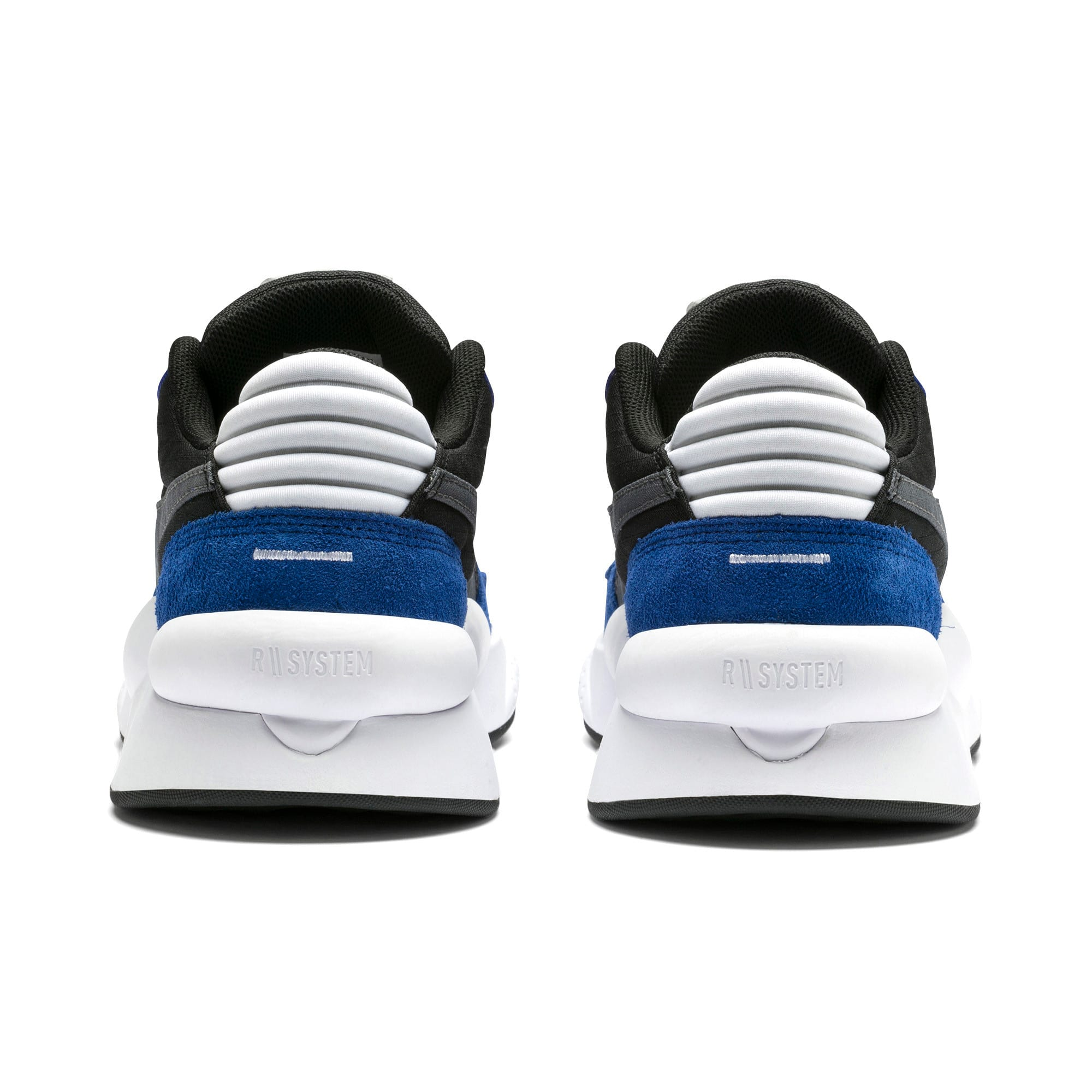 Thumbnail 3 of RS 9.8 Space Youth Trainers, Puma Black-Galaxy Blue, medium