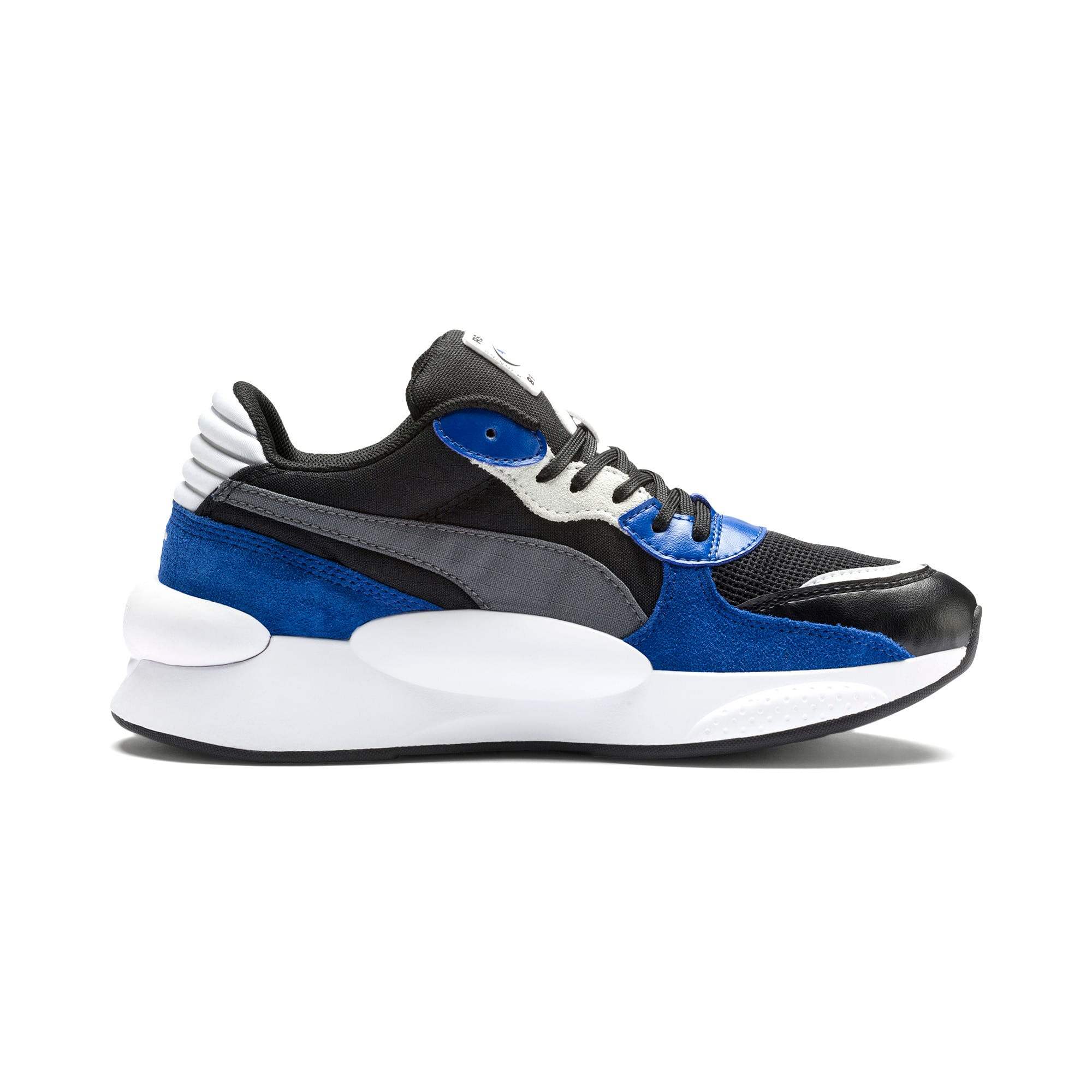 Thumbnail 5 of RS 9.8 Space Youth Trainers, Puma Black-Galaxy Blue, medium