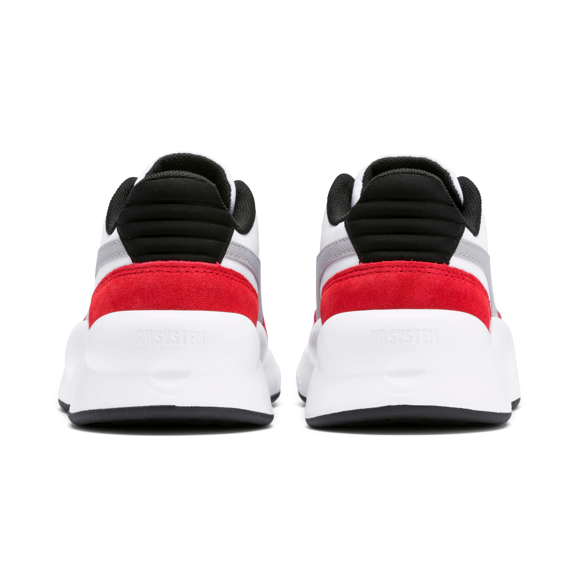 Thumbnail 3 of RS 9.8 Space Little Kids' Shoes, Puma White-High Risk Red, medium