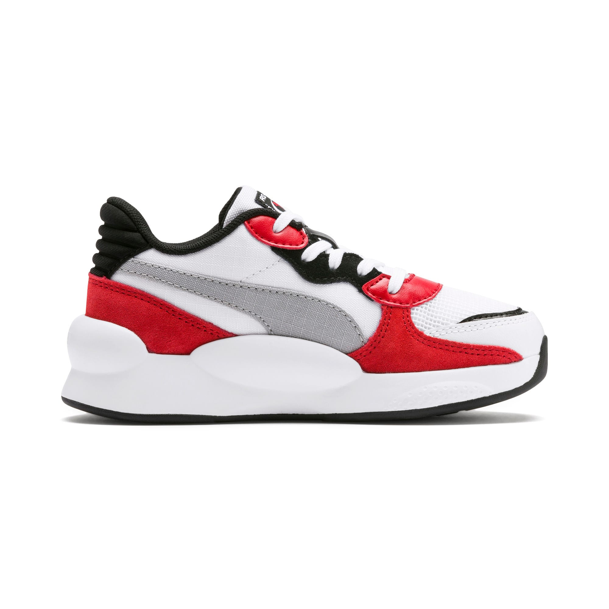 Thumbnail 5 of RS 9.8 Space Little Kids' Shoes, Puma White-High Risk Red, medium