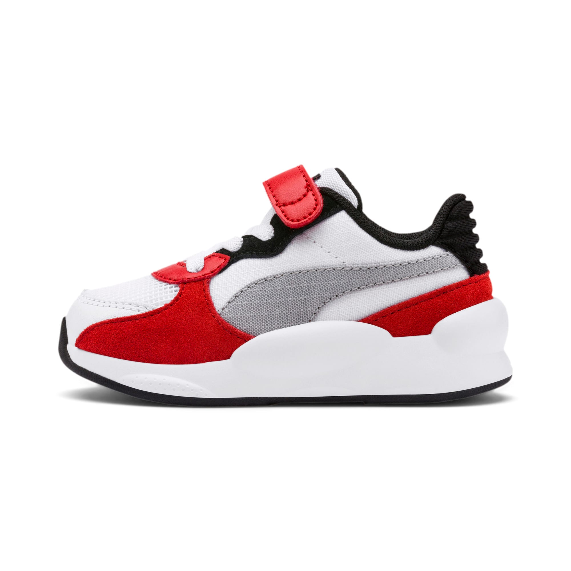 Thumbnail 1 of RS 9.8 Space AC Toddler Shoes, Puma White-High Risk Red, medium