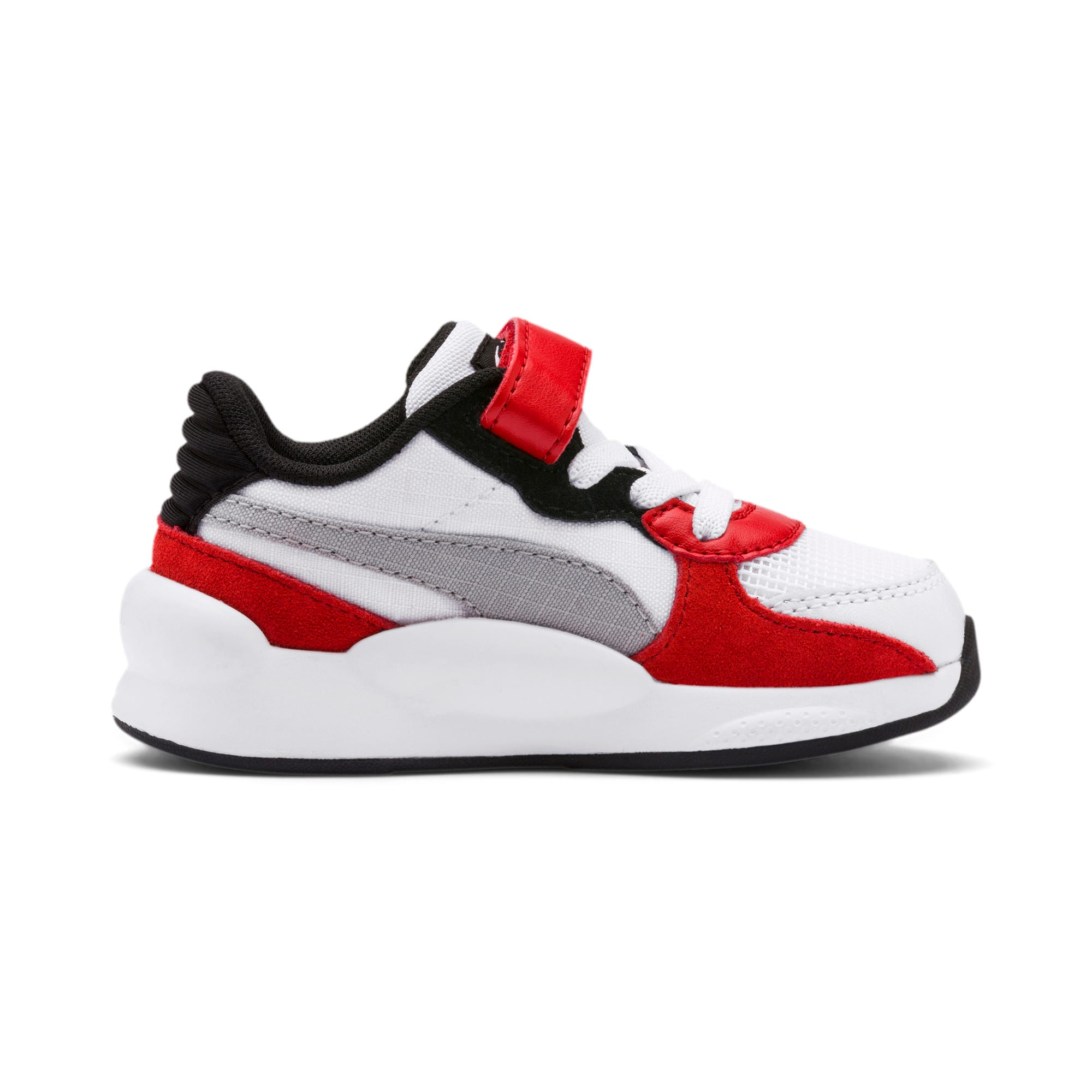 Thumbnail 5 of RS 9.8 Space AC Toddler Shoes, Puma White-High Risk Red, medium