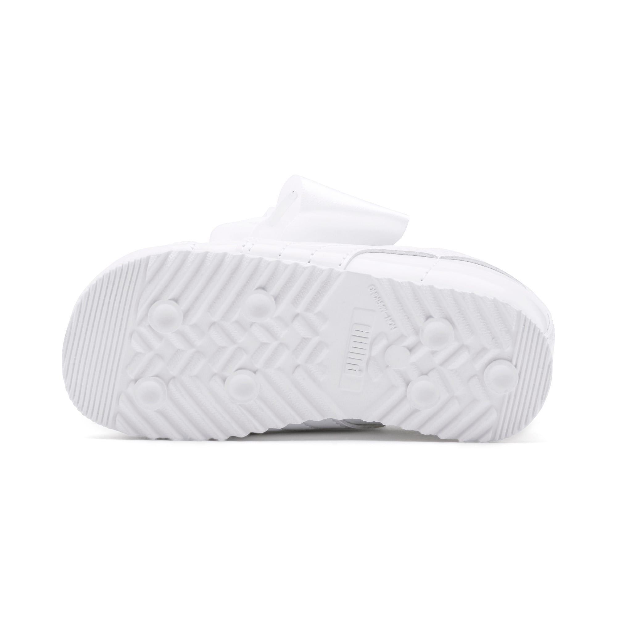 Miniatura 4 de Zapatos de charol Roma Heart para bebé, Puma White, mediano